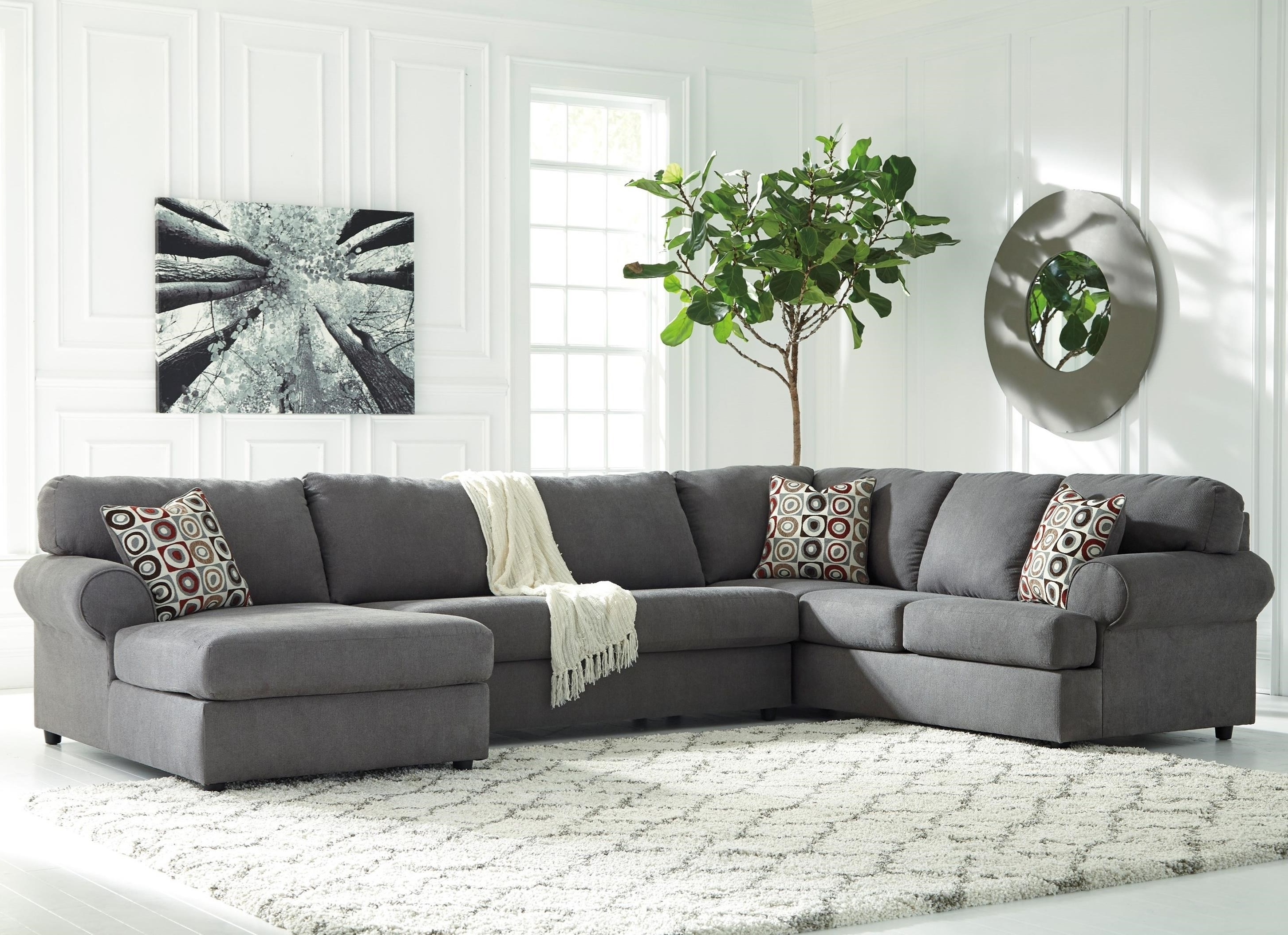Best And Newest Signature Designashley Jayceon 3 Piece Sectional With Right In 3 Piece Sectionals With Chaise (View 4 of 15)