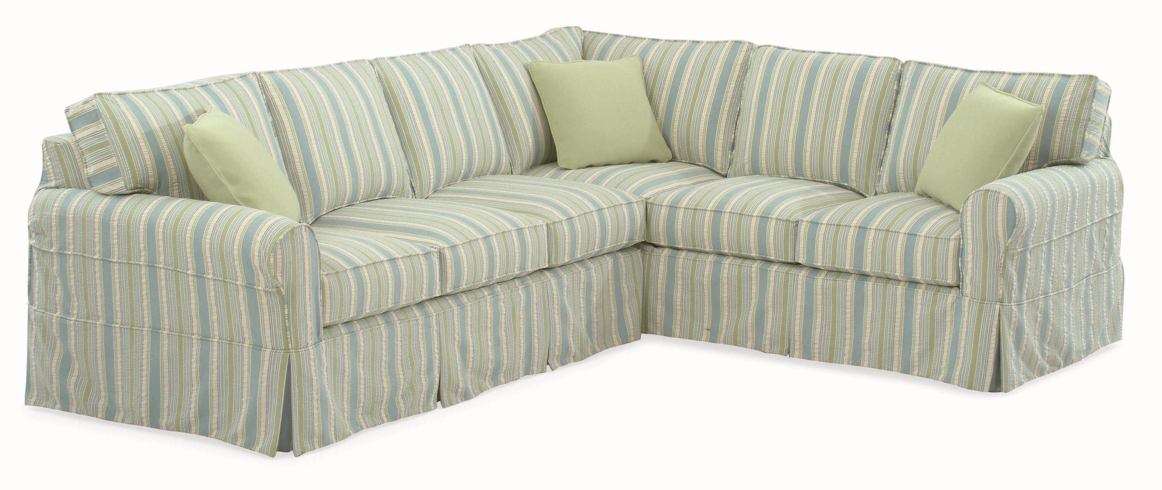 Best And Newest Slipcovers For Sectionals With Chaise For Braxton Culler 728 Casual Sectional Sofa With Rolled Arms And (View 3 of 15)