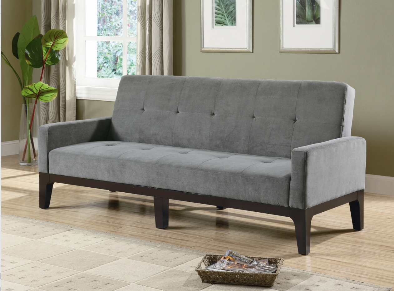 Best And Newest Tiny Sofas For 12 Affordable (And Chic) Sleeper Sofas For Small Living Spaces (View 1 of 15)
