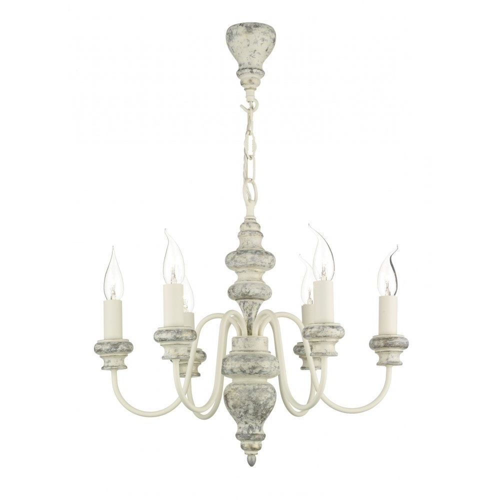 Best And Newest Traditional Distressed Cream Chandelier Light For Rustic Settings For Cream Chandelier (View 2 of 15)
