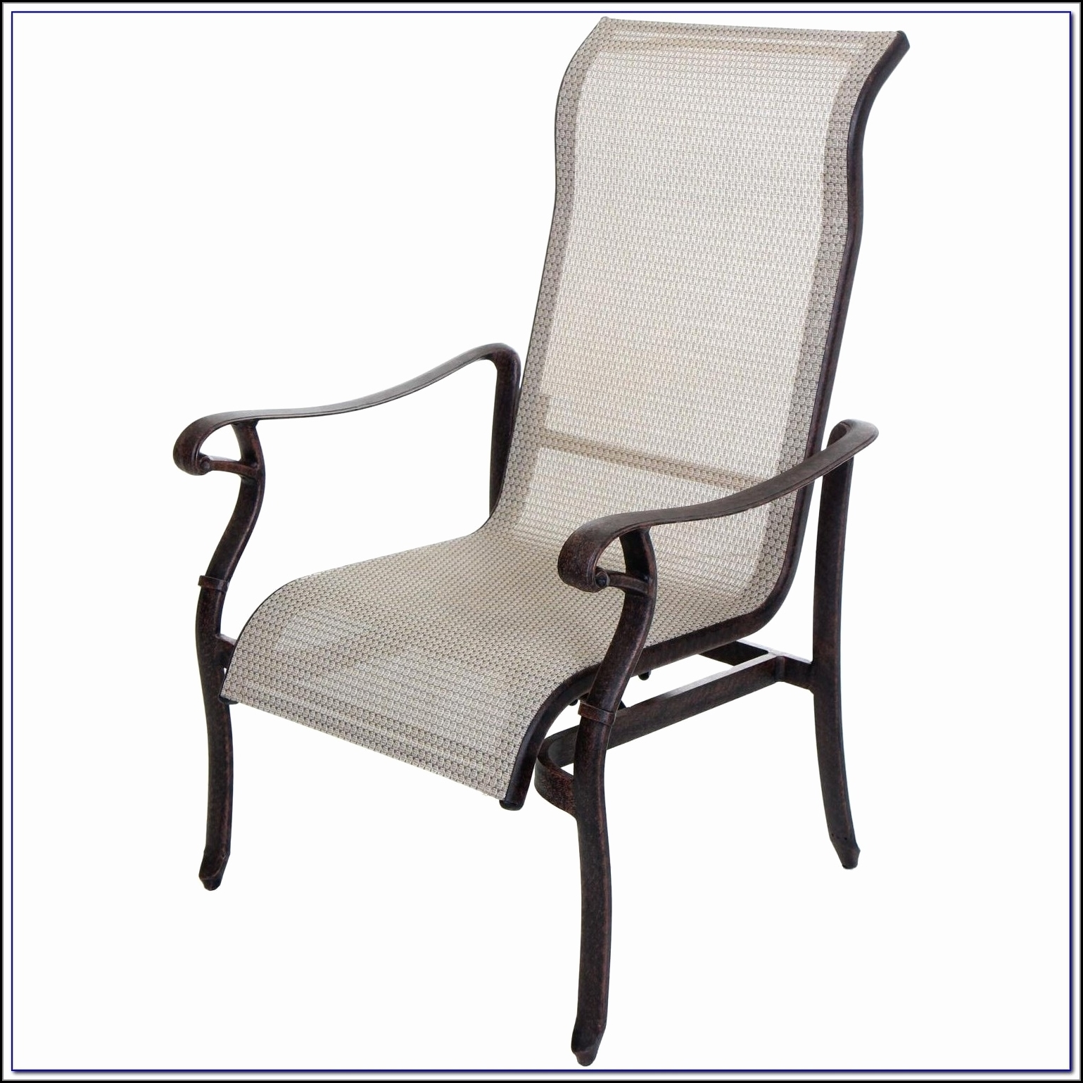 Best And Newest Wrought Iron Chaise Lounges Inside Outdoor : Folding Lounge Chair Indoor Wrought Iron Chaise Lounge (View 2 of 15)