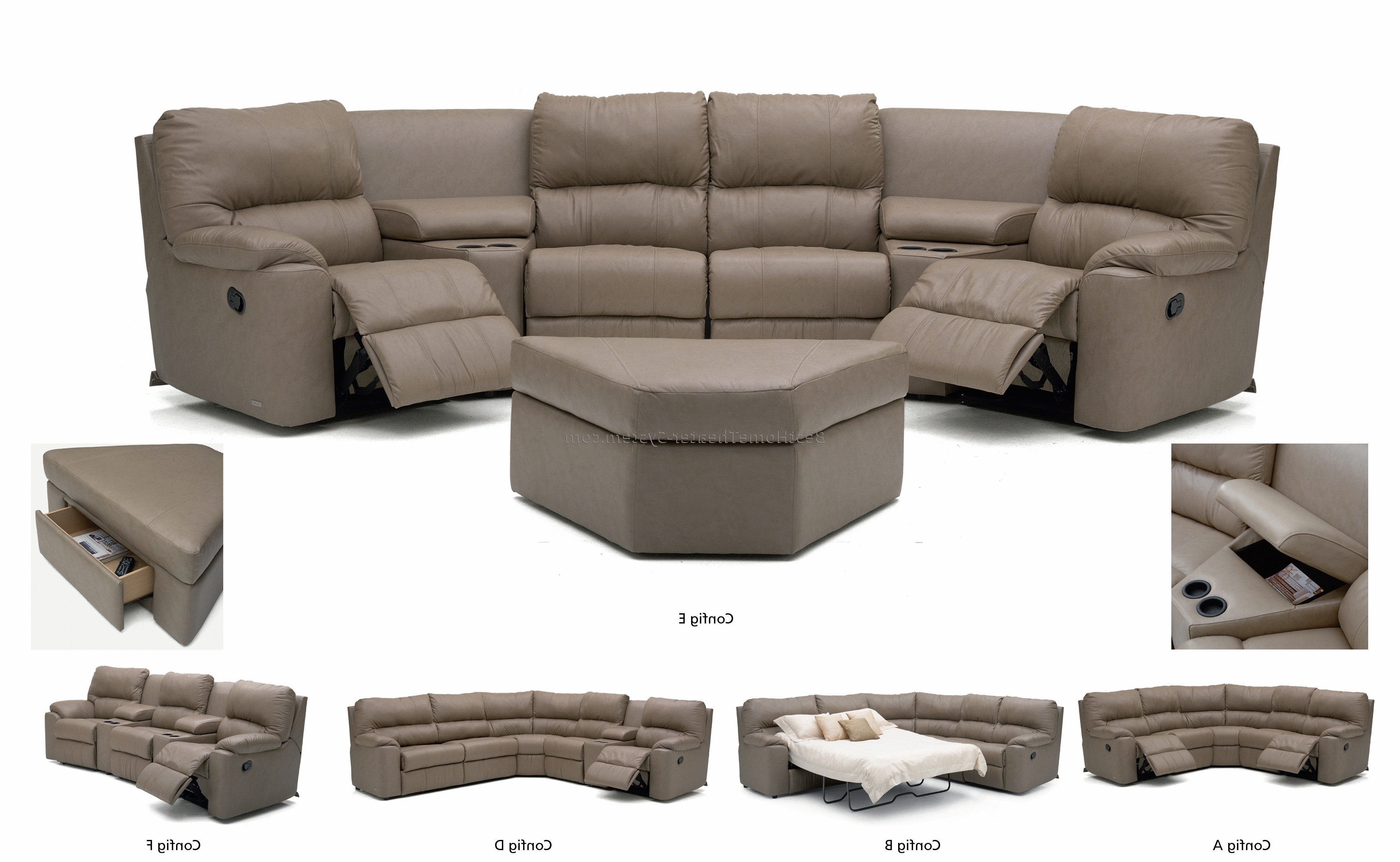 Best Home Theater Systems In Most Current 2 Seat Sectional Sofas (View 7 of 15)