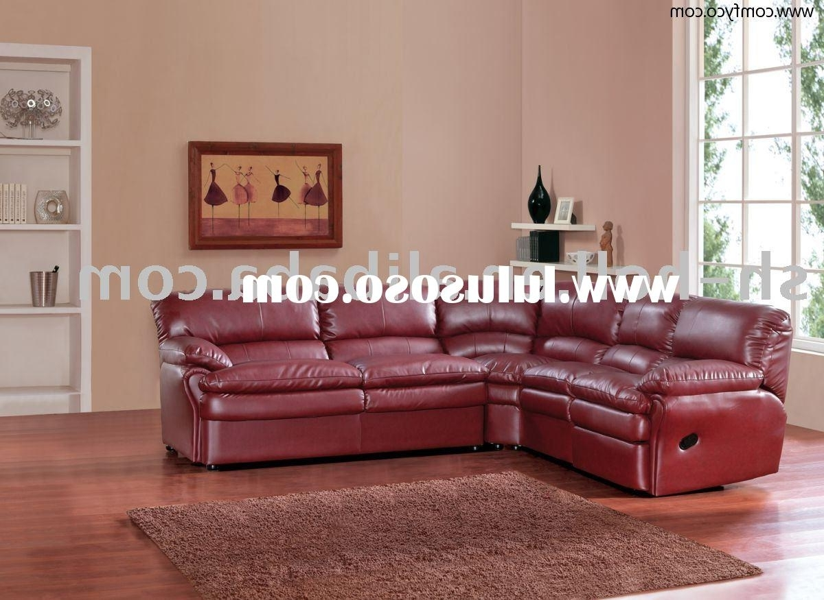 Best Leather Sectional Sofa With Recliner Photos – Liltigertoo Regarding Most Current Red Leather Sectional Sofas With Recliners (View 2 of 15)