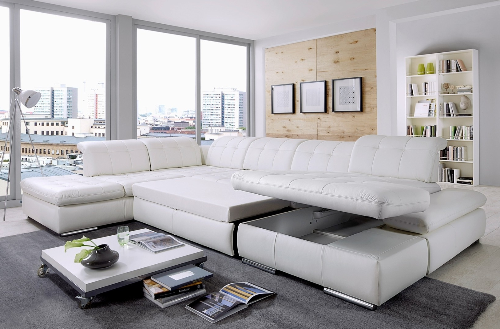 Best Modern Contemporary Furniture Stores Orlando Miami Florida Fl Intended For Trendy Nh Sectional Sofas (View 4 of 15)