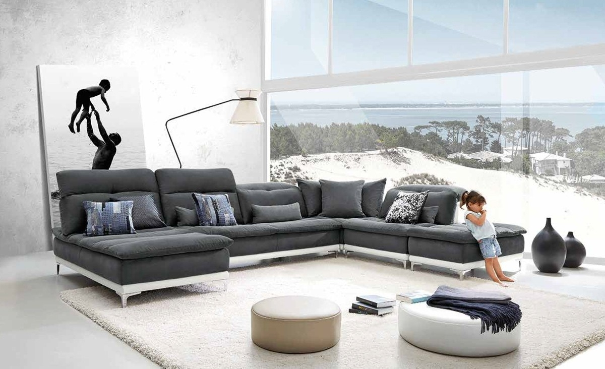Best Modern Sectional Sofa — Cabinets, Beds, Sofas And Throughout 2018 Modern Sectional Sofas (View 5 of 15)