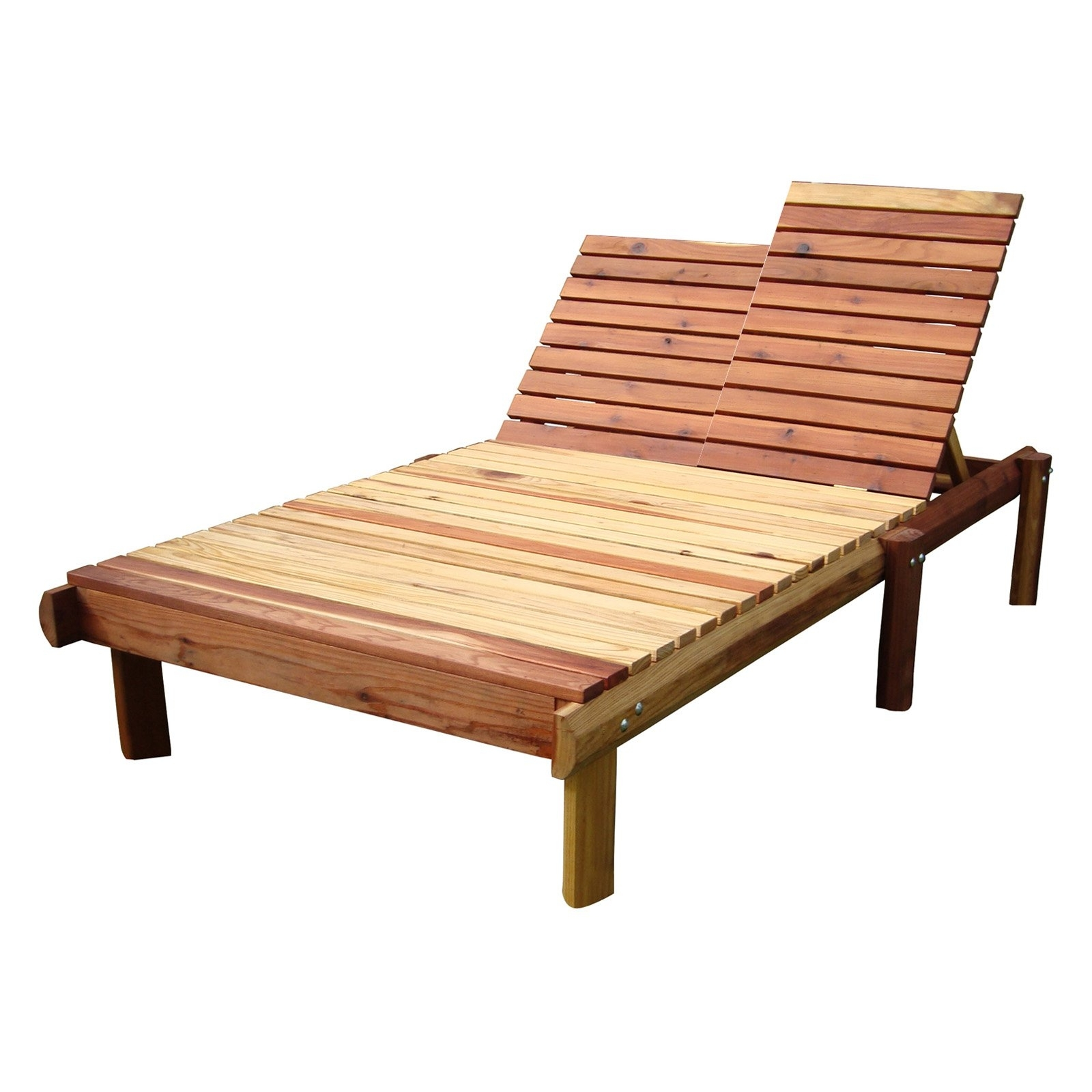 Best Redwood Single Beach Chaise Lounge (View 3 of 15)