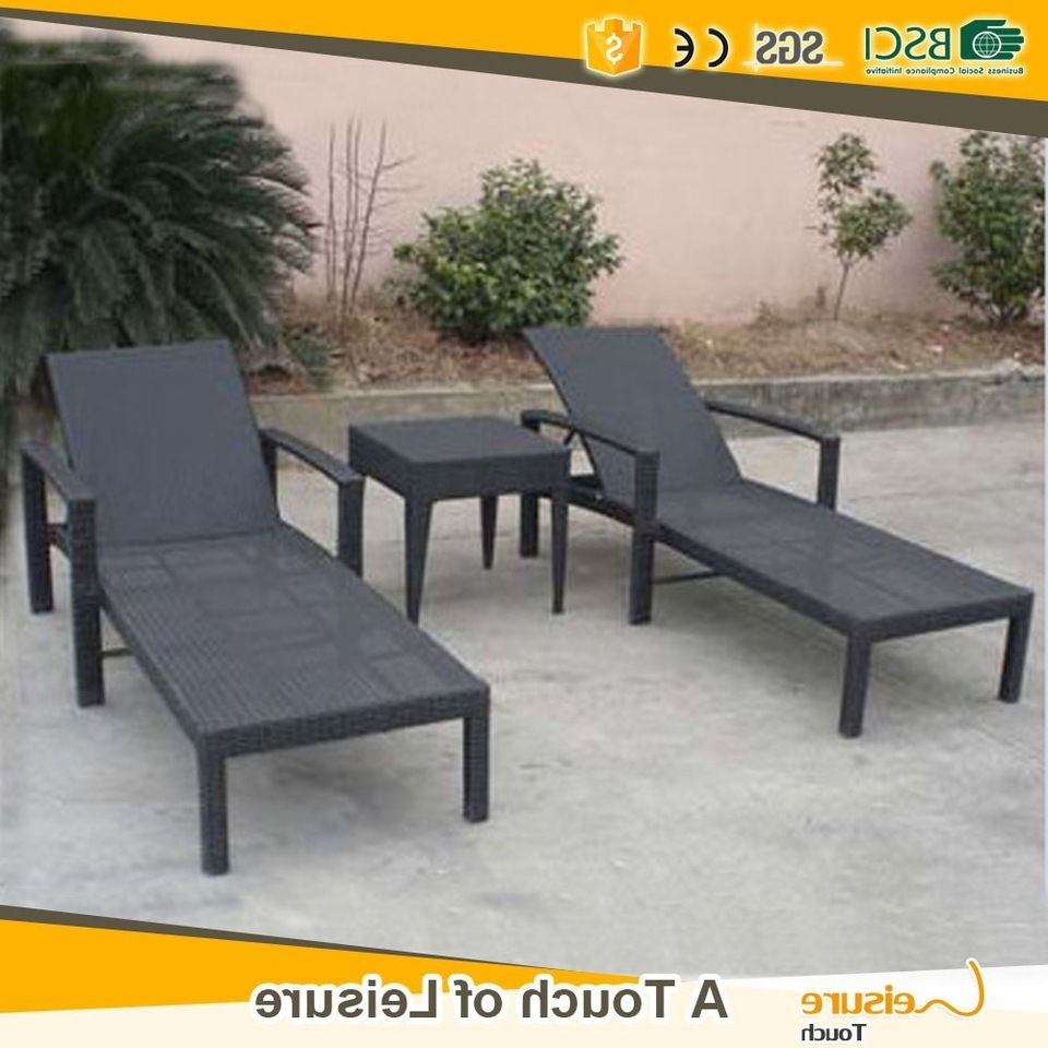 Best Selling Pe Rattan Beach Sun Lounge Chair & Pool Chaise Lounge Within Well Known Hotel Chaise Lounge Chairs (View 15 of 15)