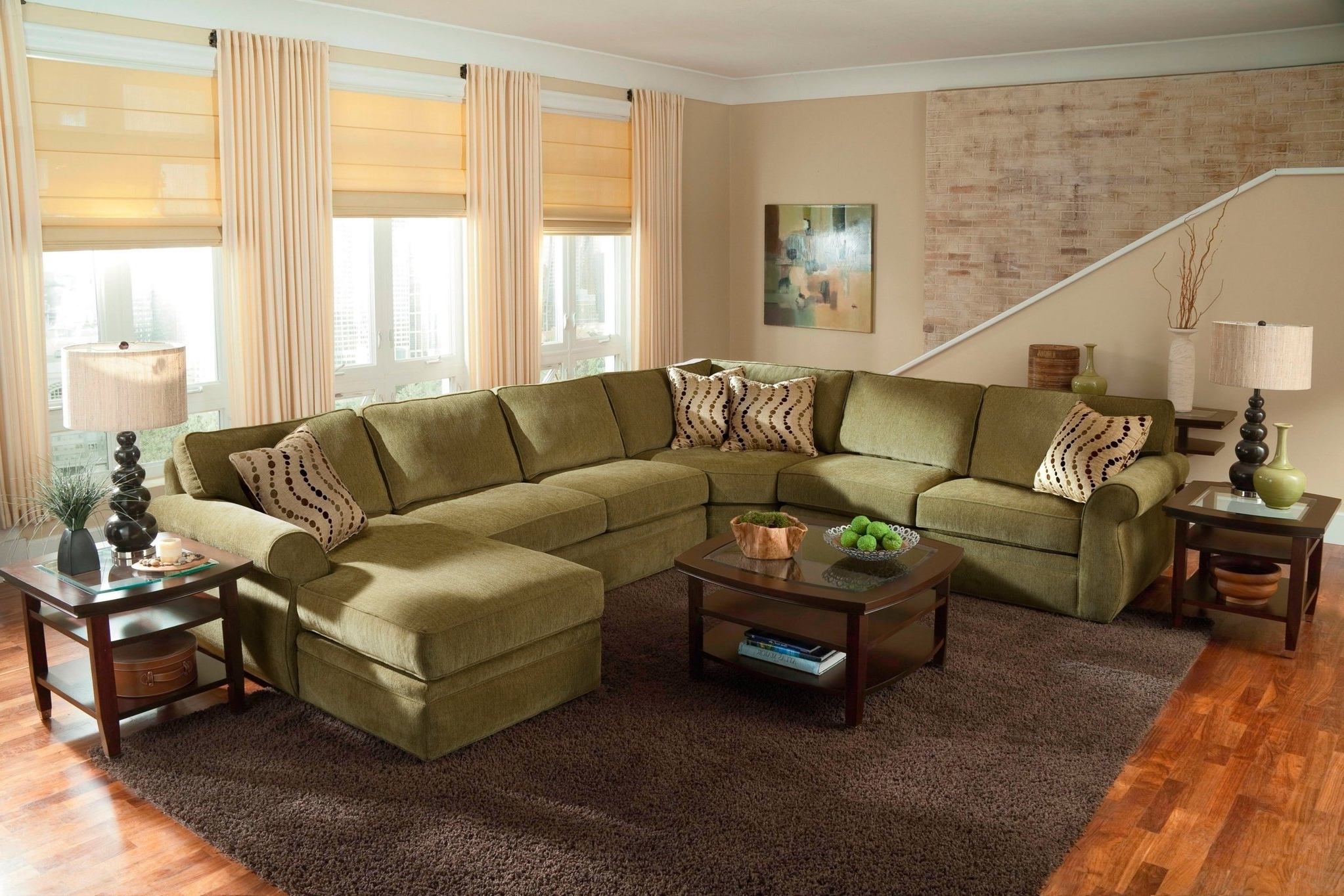 Featured Photo of Big U Shaped Sectionals