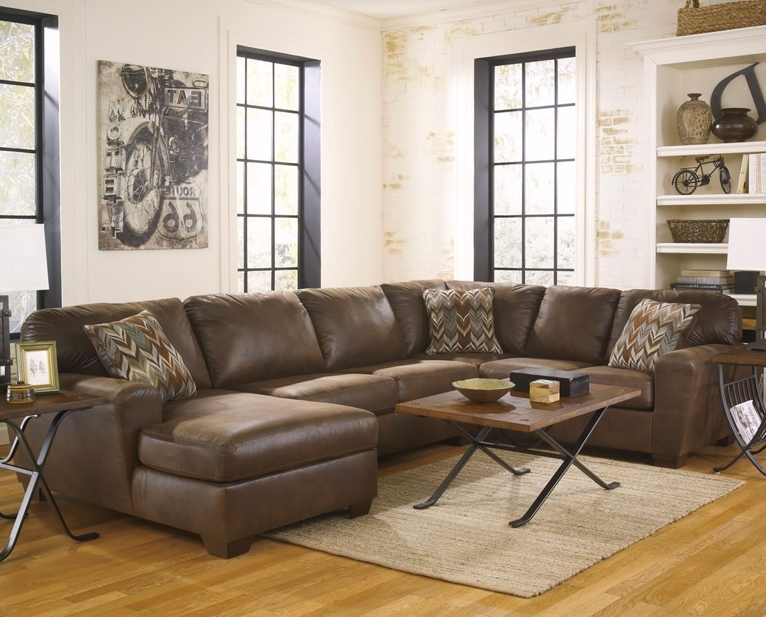Big U Shaped Sectionals With Well Known Sofa : U Shaped Sectional Sofa Red Leather Sofa' Bob Furniture (View 4 of 15)