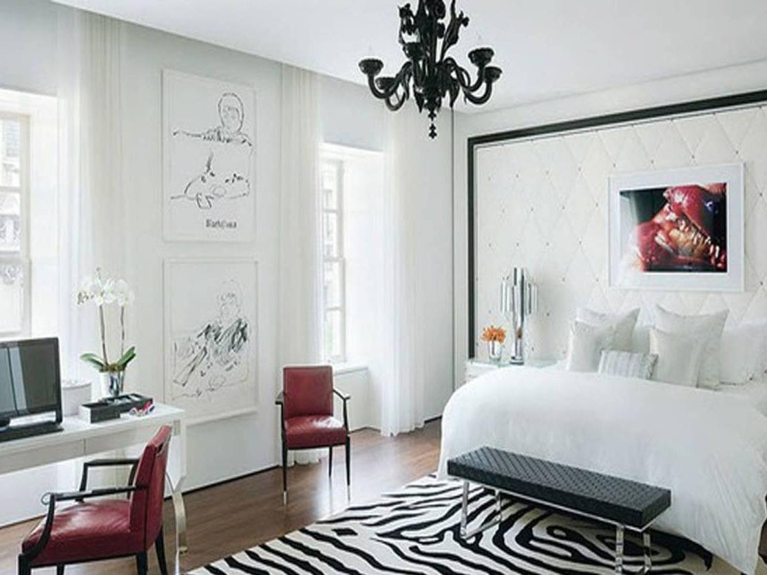 Black Chandelier Bedroom Inside Current Luxury Black Chandelier For Bedroom 57 With Additional Ikea Bedroom (View 5 of 15)