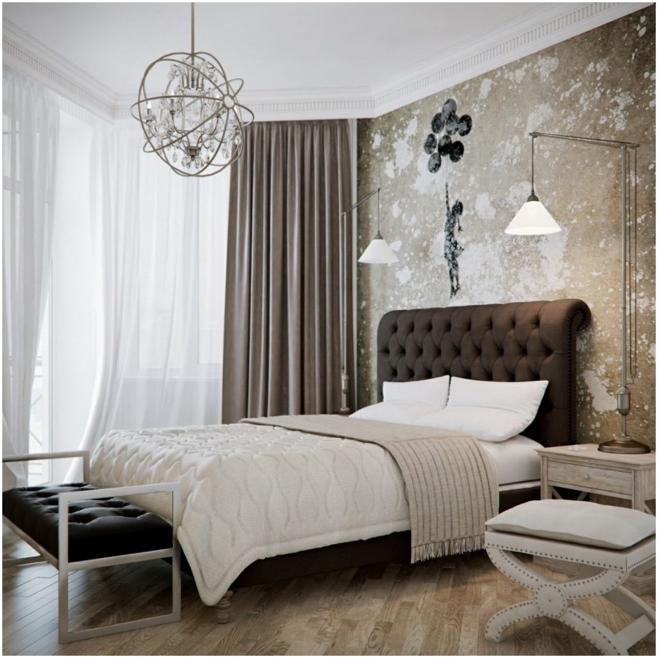 Black Chandelier Bedroom With Most Up To Date Black Chandelier For Bedroom Collection Chandeliers Bedrooms Images (Gallery 13 of 15)