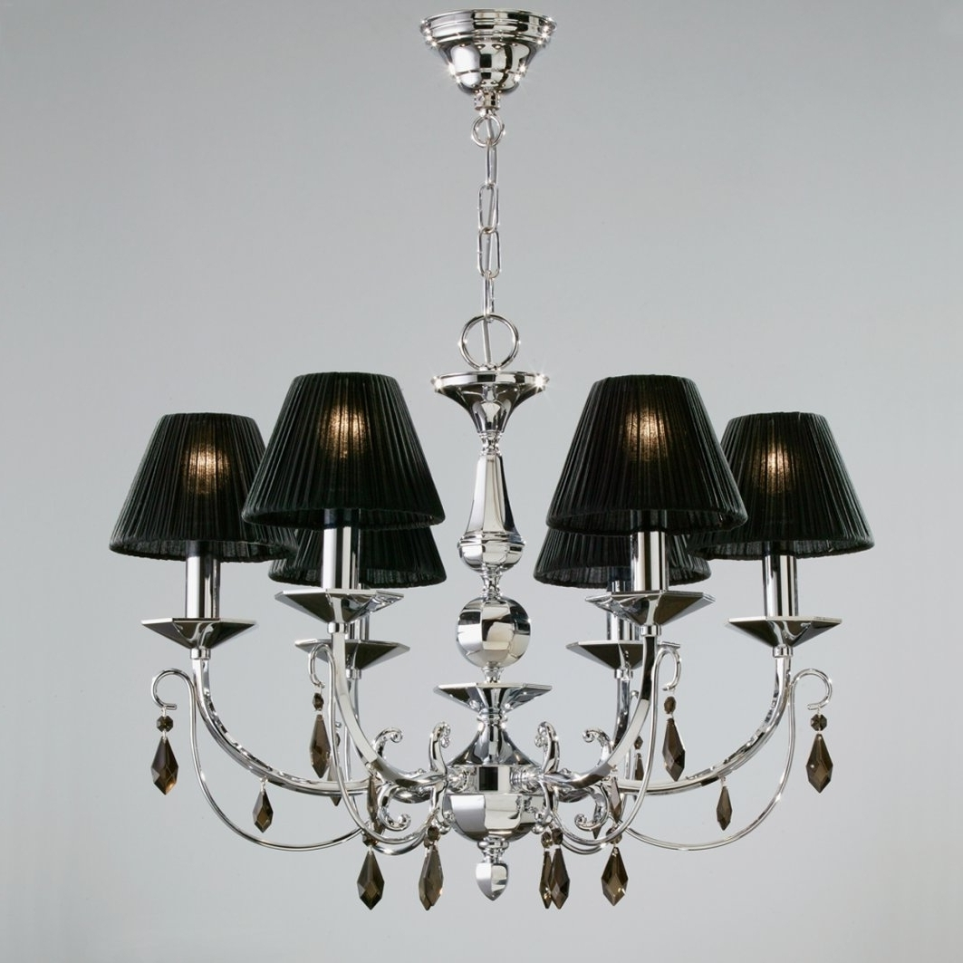 Black Chandelier Lamp Shades (View 3 of 15)