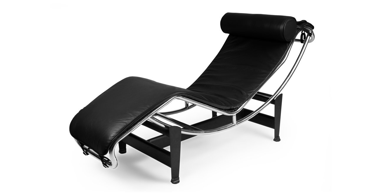 Black Leather Chaise Lounges For Recent Amazon: Kardiel Gravity Chaise Lounge, Black Aniline Leather (View 3 of 15)