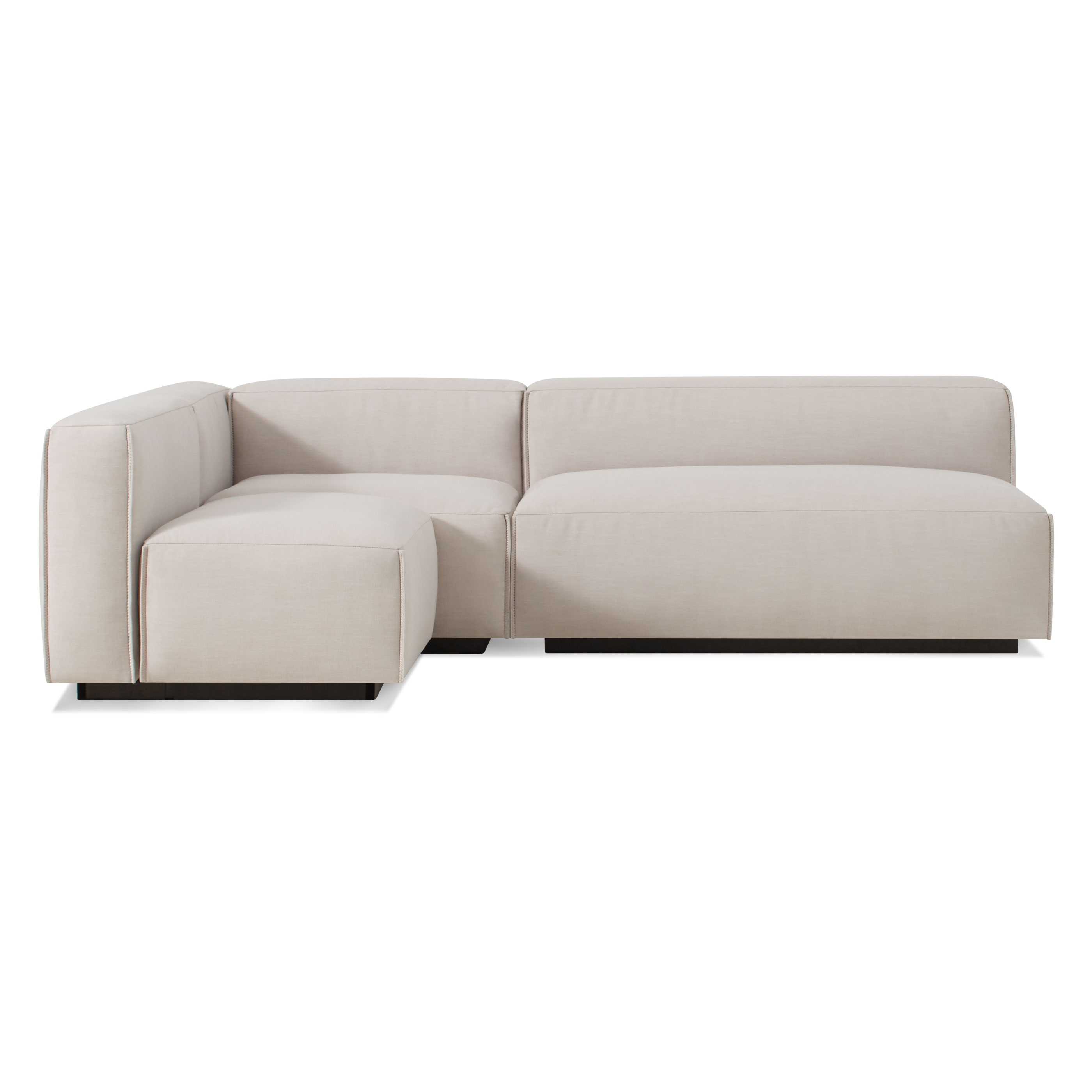 Blu Dot Inside Armless Sectional Sofas (View 5 of 15)