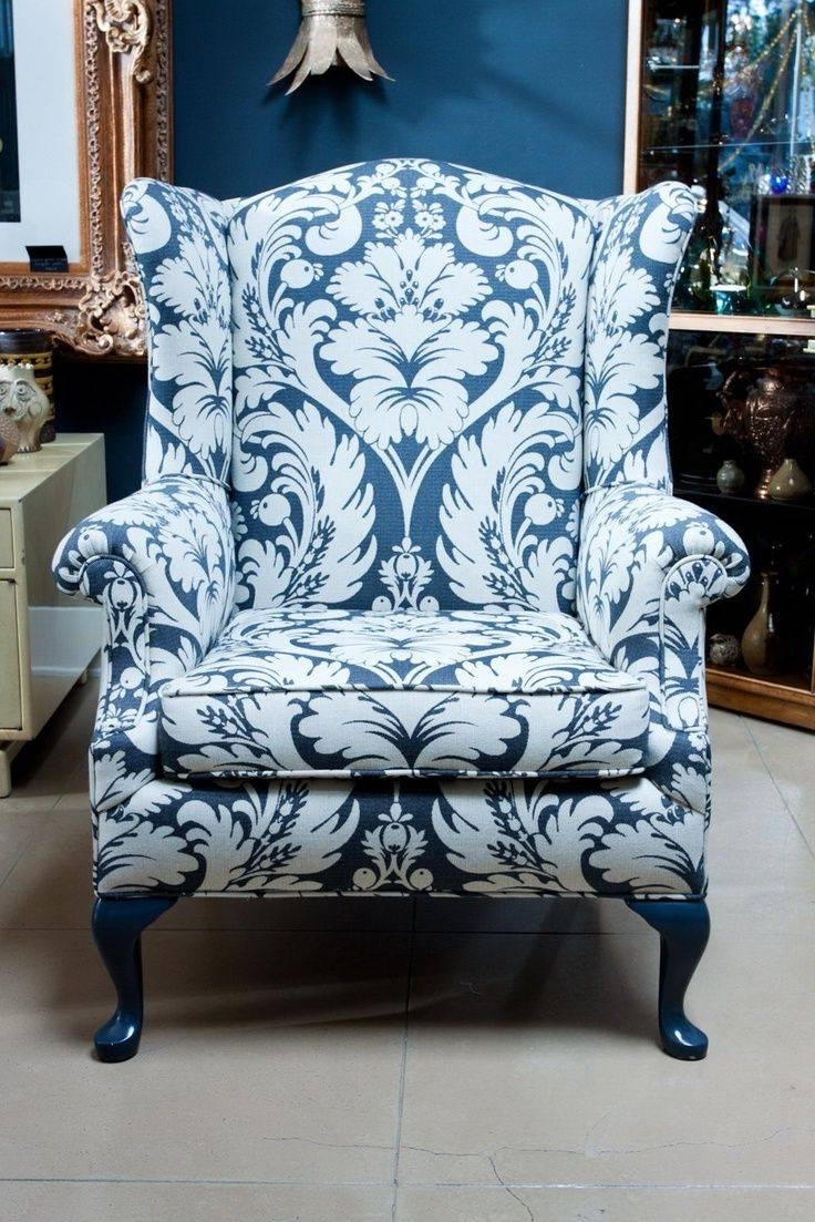 Blue Chintz Sofa – Zhis Within Recent Chintz Sofas And Chairs (View 4 of 15)