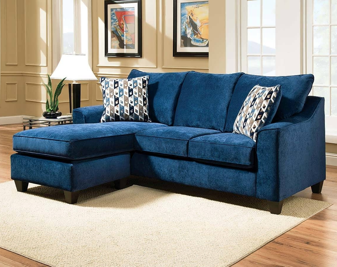 Blue Sectional Sofas With Chaise Intended For Trendy Sofa : Navy Blue Sectional With Chaise Reclining Sectional (View 5 of 15)