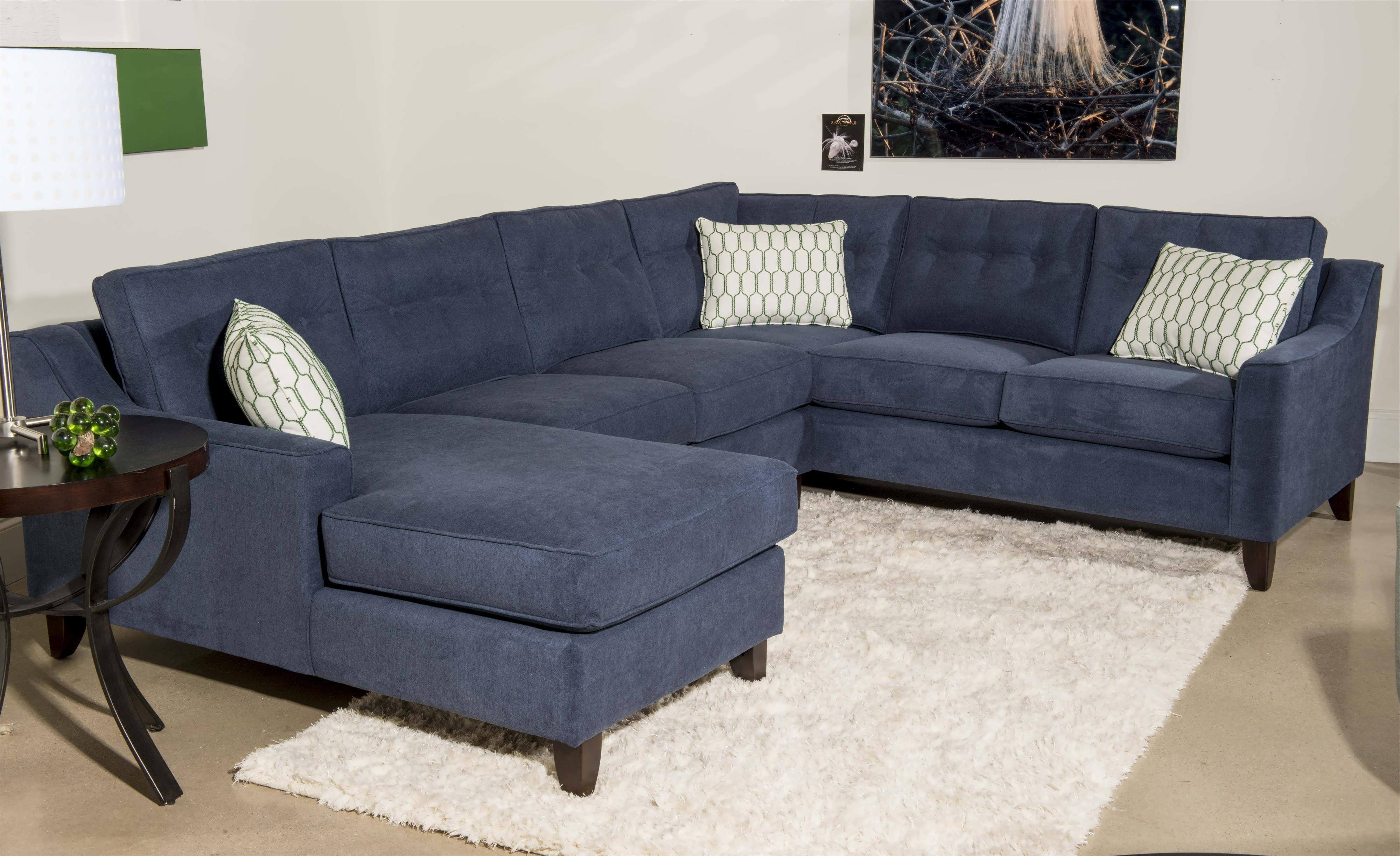 Blue Sectional Sofas With Chaise With Most Popular Sofa : Grey Sectional Small Sectional Sofa Curved Sectional Sofa (View 7 of 15)