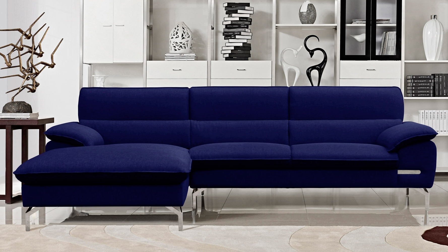 Blue Sectional Sofas With Chaise With Well Known Living Room Sofa Amazing Blue Sectional With Chaise For Modern (View 6 of 15)