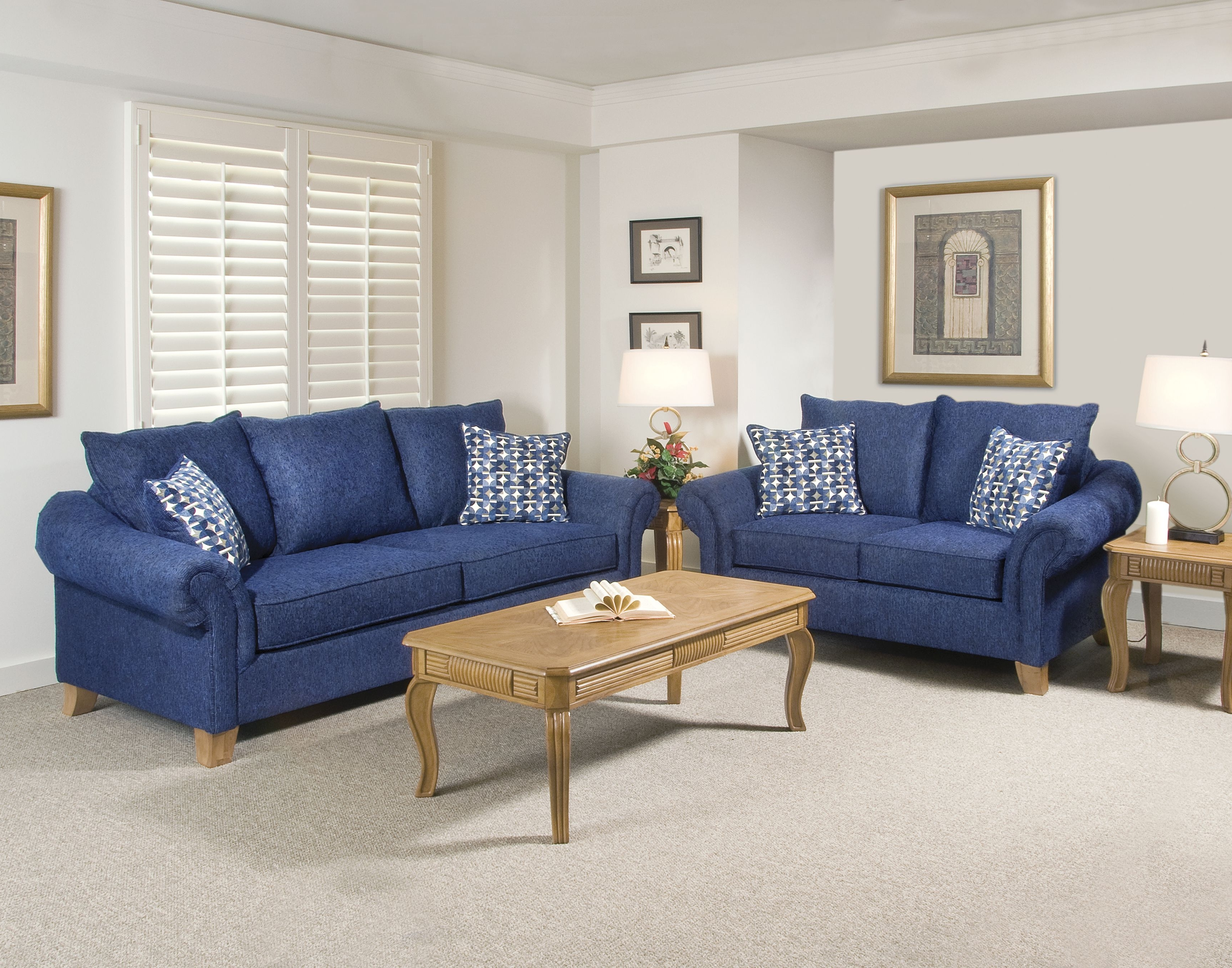 Blue Sofa Chairs Throughout Most Recent Navy Blue Sofa Set Cool – Home Ideas (View 4 of 15)