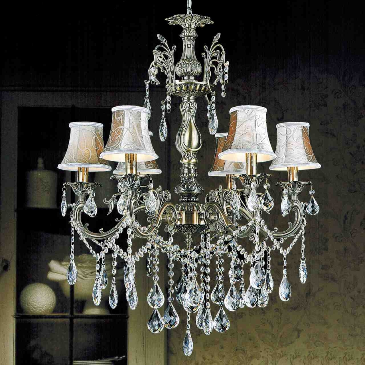 Brass And Crystal Chandeliers With Best And Newest Brizzo Lighting Stores (View 5 of 15)