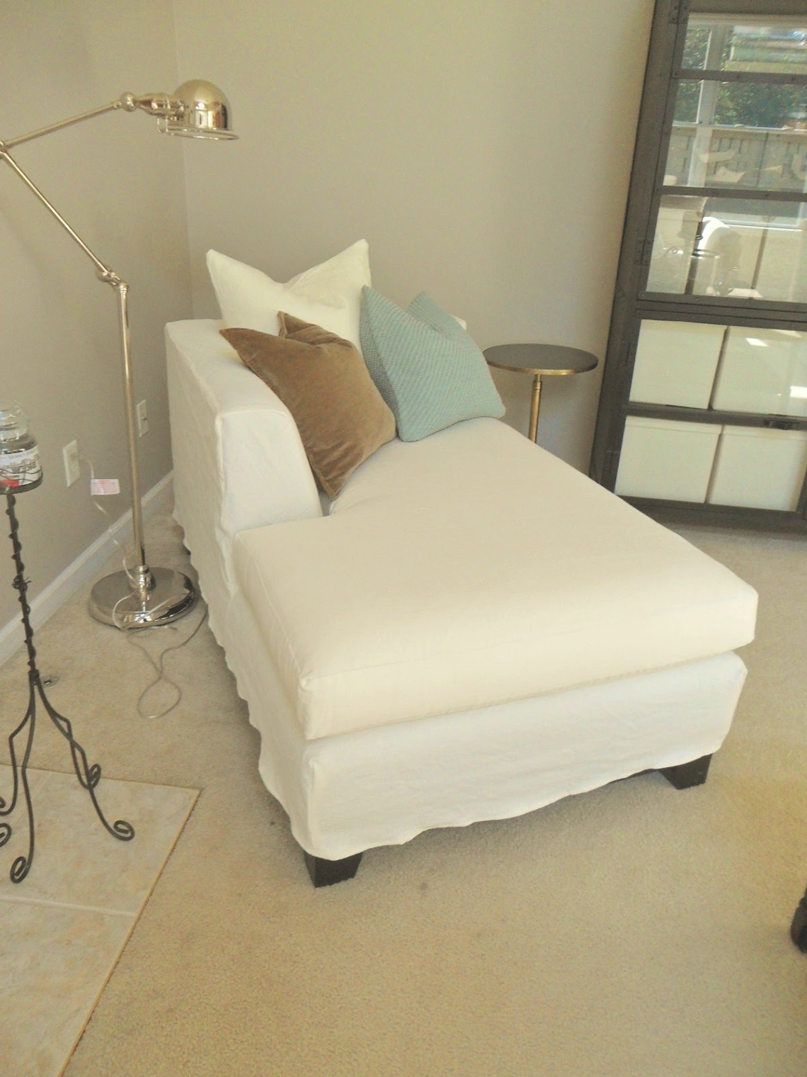 Brilliant Chaise Lounge Covers With Chaise Lounge Cover Lazulo With Most Recently Released Chaise Covers (View 5 of 15)
