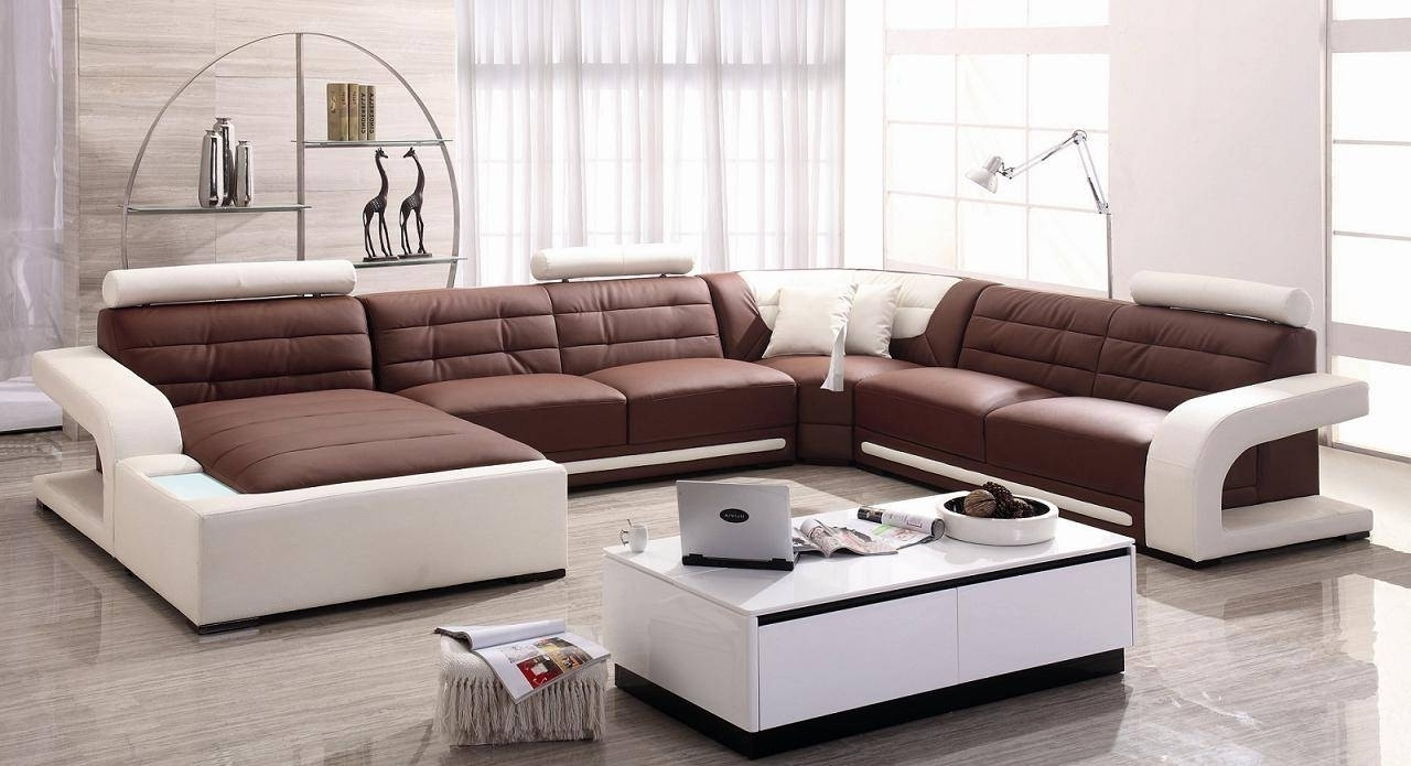 Brilliant Modern Microfiber Sectional Sofas – Mediasupload In 2018 Modern Microfiber Sectional Sofas (View 2 of 15)