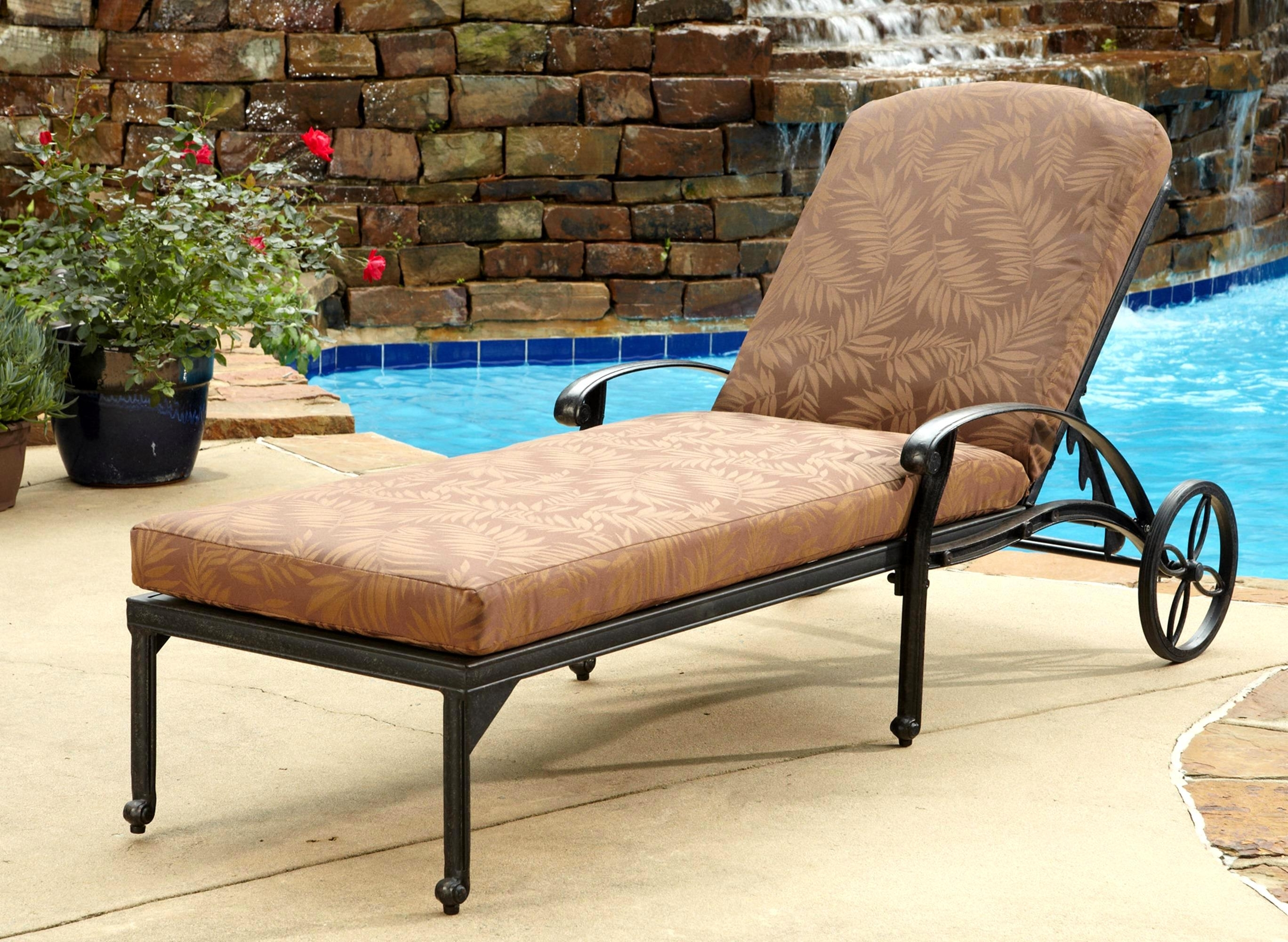 Brilliant Patio Lounge Chairs Outdoor Furniture Outdoor Chaise Intended For Most Up To Date Chaise Lounge Chairs At Big Lots (View 2 of 15)