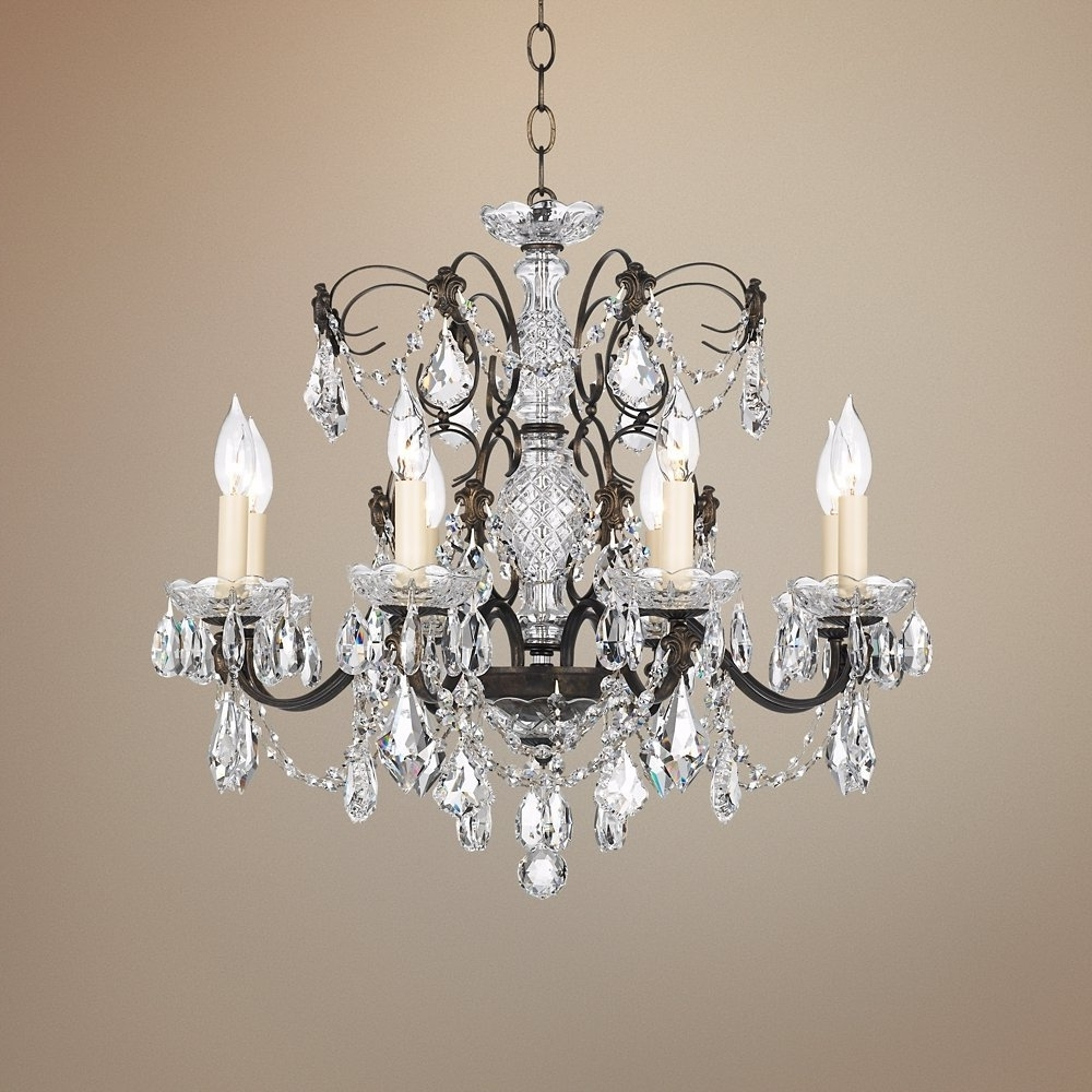 """Bronze And Crystal Chandeliers Inside Fashionable Schonbek Century Bronze 24"""" Wide Crystal Chandelier – – Amazon (View 2 of 15)"""