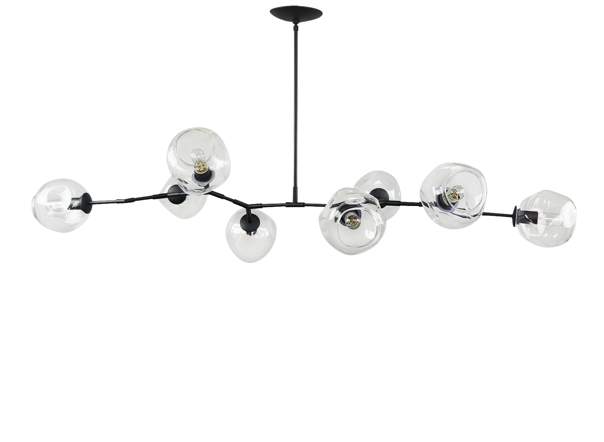 Bronze Modern Chandelier Pertaining To Most Recent Branching Bubble Modern Chandelier (View 15 of 15)