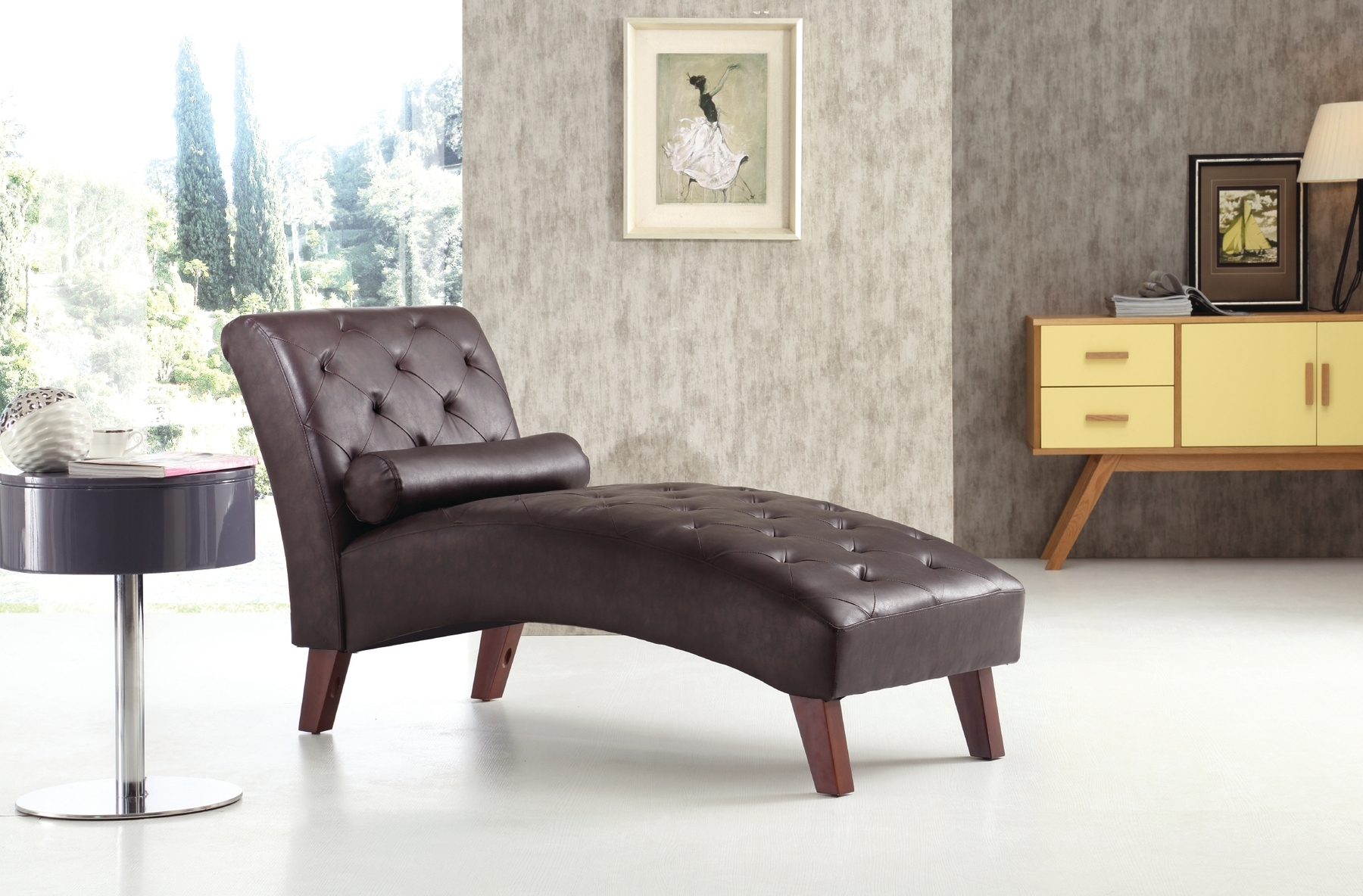 Brown Chaises In Most Up To Date Newbury Brown Chaise G237 Glory Furniture Chaises, Lounge Chairs (View 13 of 15)