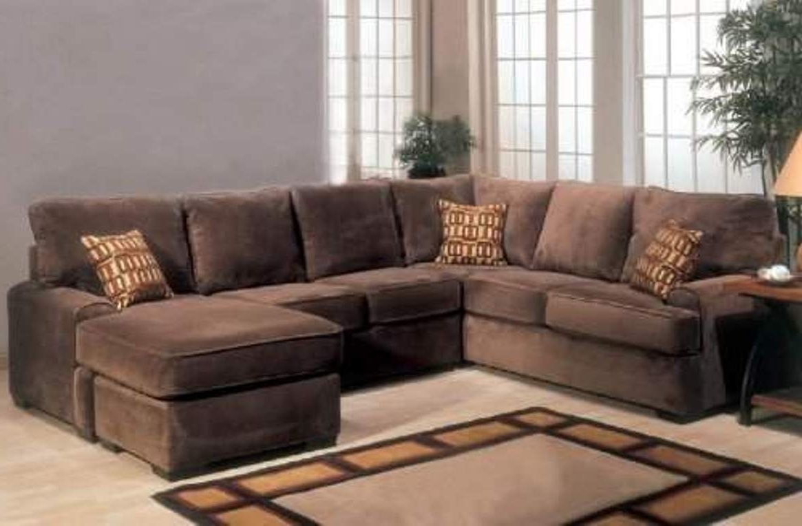 Brown Sectionals With Chaise Within Widely Used Brown Sectional Sofa Cheap (View 7 of 15)