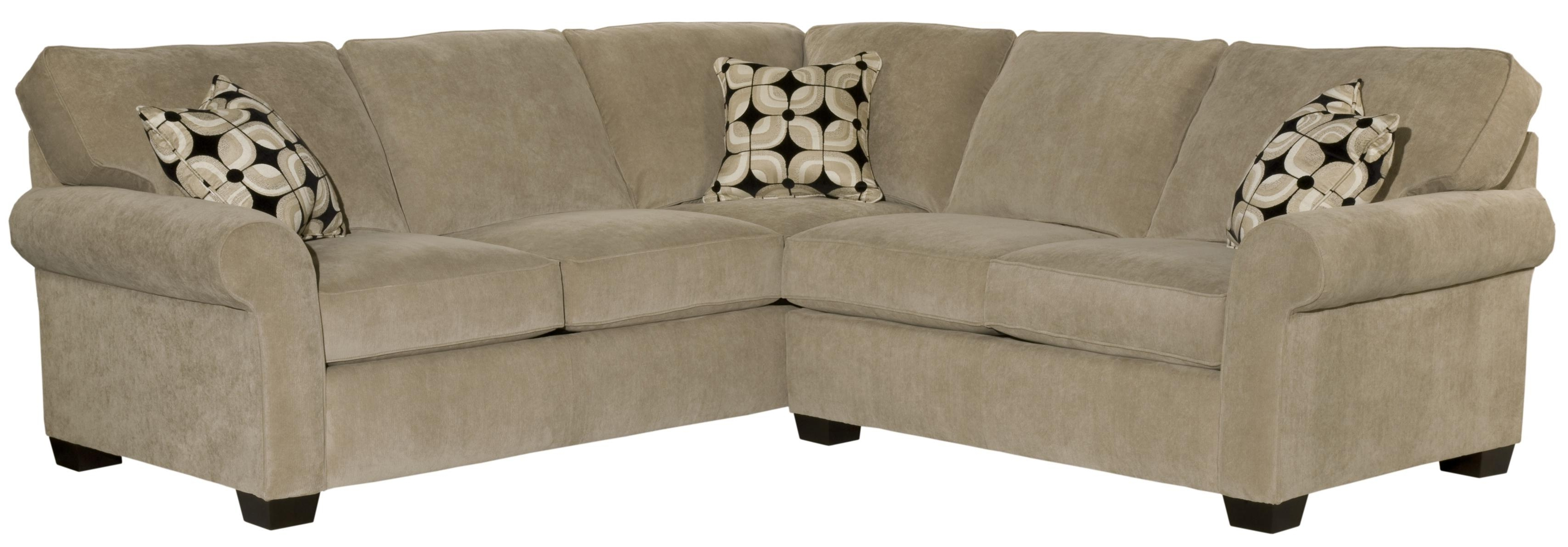 Broyhill Sectional Sofas For Most Recently Released Broyhill Furniture Ethan Two Piece Sectional With Corner Sofa (View 4 of 15)