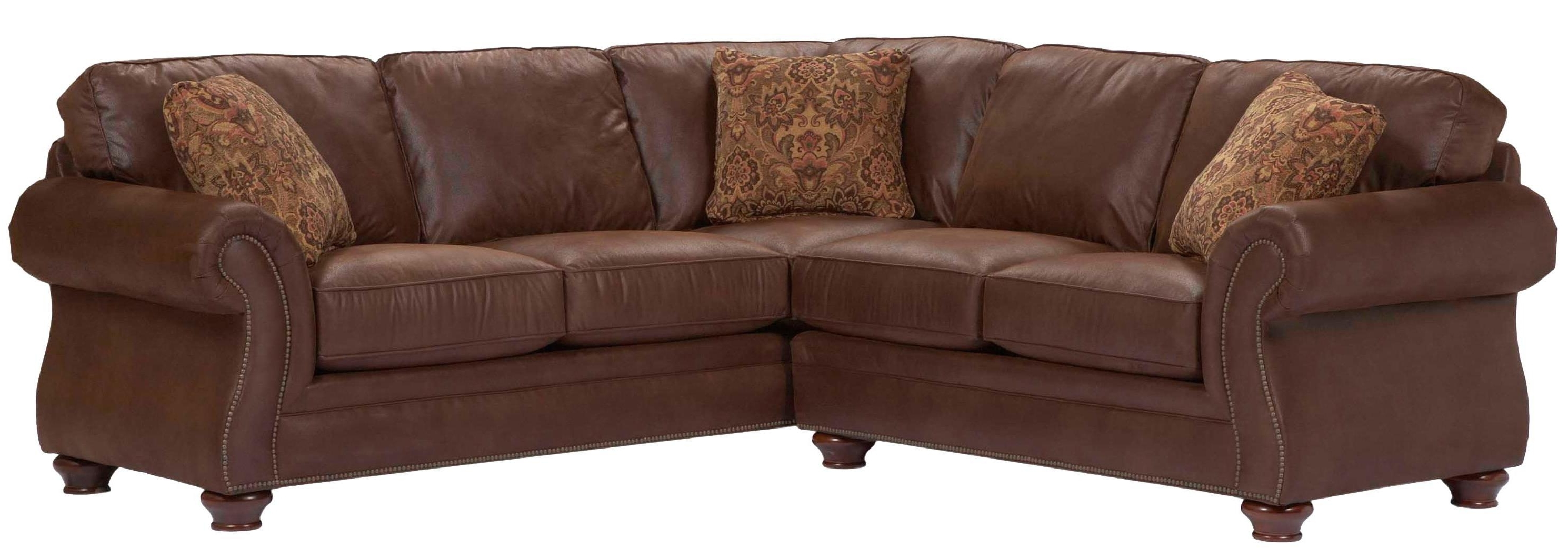 Broyhill Sectional Sofas Pertaining To Widely Used Broyhill Furniture Laramie 2 Piece Corner Sectional Sofa (View 11 of 15)