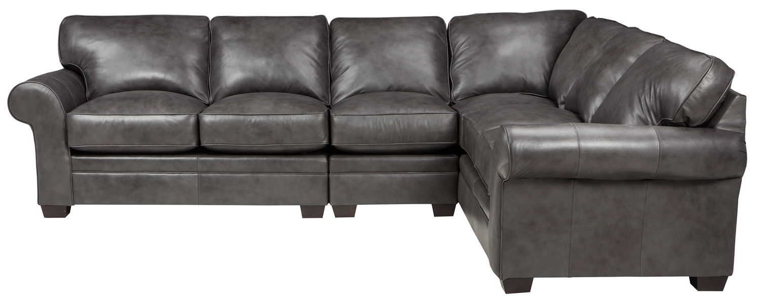 Broyhill Sectional Sofas With Regard To Popular Zachary 3 Piece Sectional, Broyhill – Frontroom Furnishings (View 13 of 15)