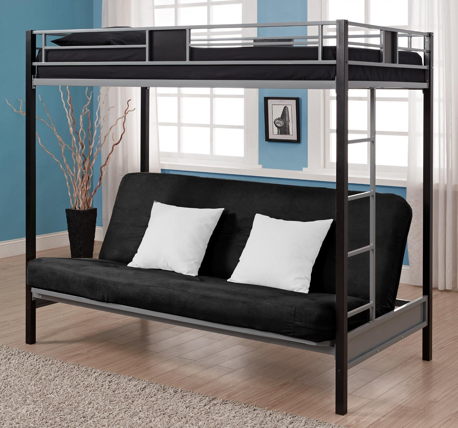 Bunk Bed With Sofa Bed – Interior Design Ideas Bedroom – Imagepoop With Regard To Favorite Sofa Bunk Beds (View 3 of 15)