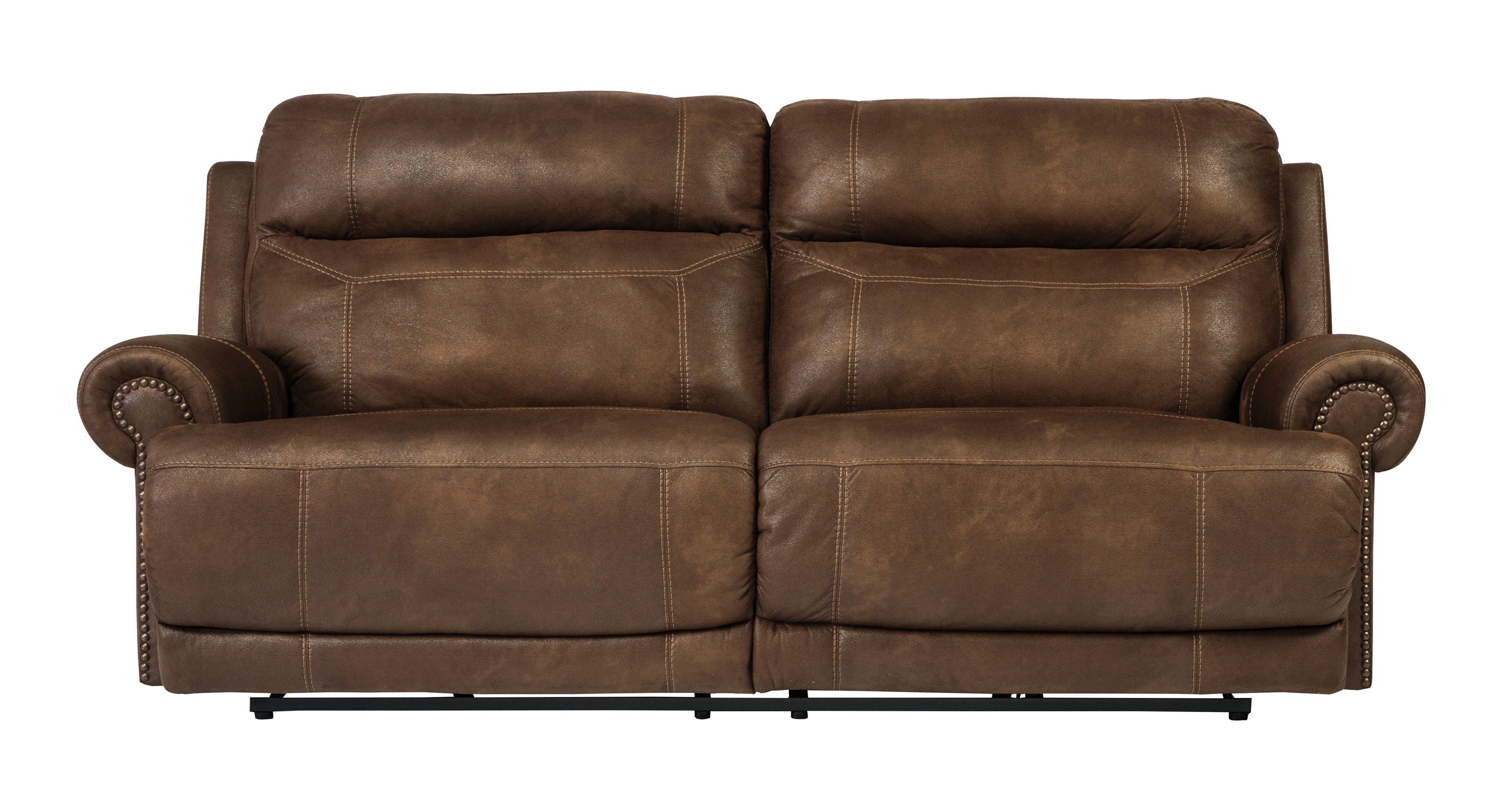Buy Austere – Brown 2 Seat Reclining Sofasignature Design From Pertaining To Most Recently Released 2 Seat Recliner Sofas (View 2 of 15)