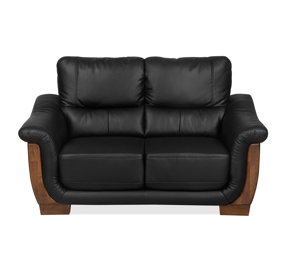 Buy Brooks 2 Seater Sofa, Black Online – At Home Pertaining To Popular Black 2 Seater Sofas (View 5 of 15)