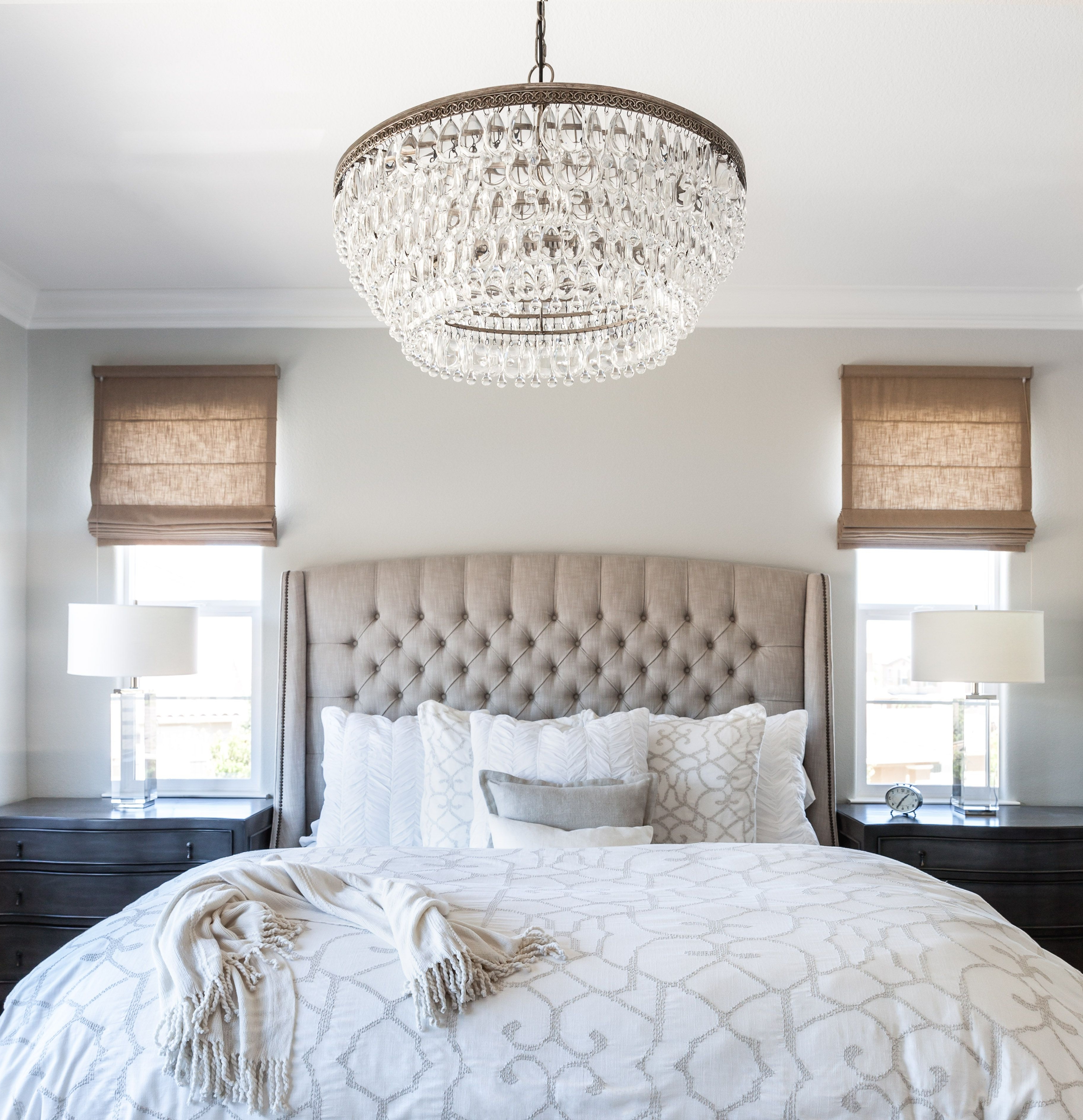 Calming For 2017 Cream Crystal Chandelier (View 12 of 15)