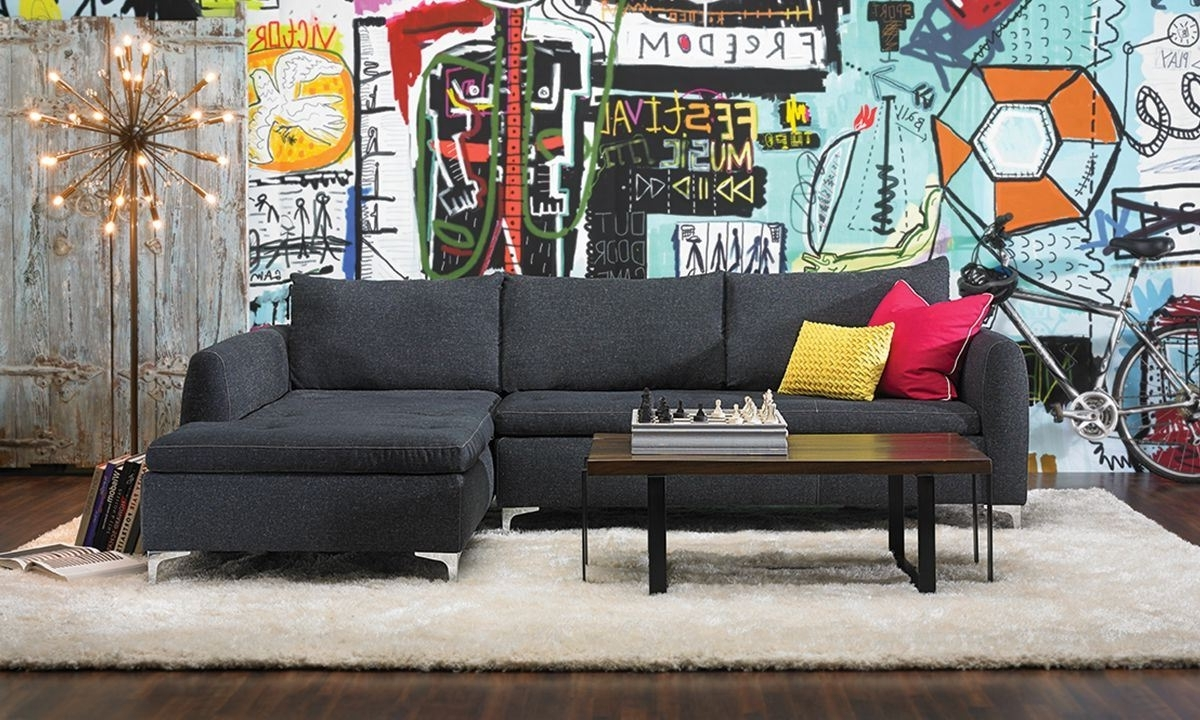 Camden Chaise Sectional Sofa (View 2 of 15)