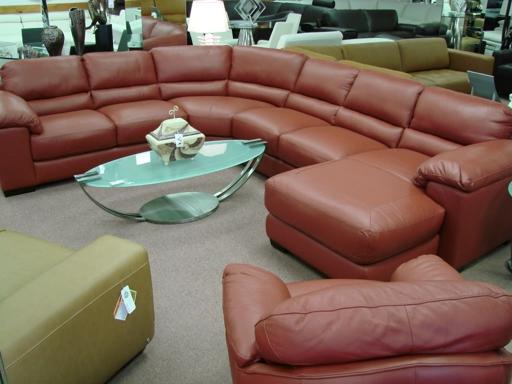 Camel Colored Sectional Sofas In Recent Camel Color Leather Sectional Sofa • Leather Sofa (View 14 of 15)