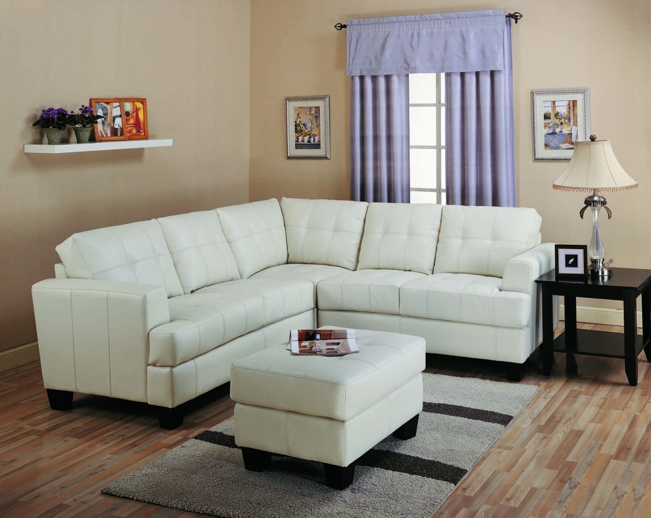 Canada Sectional Sofas For Small Spaces Regarding Trendy Furniture (View 7 of 15)