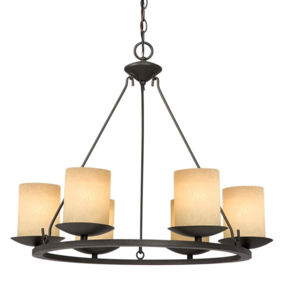 Candle Look Chandeliers With Favorite Pillar Candle Look Chandelier – Chandelier Designs (View 4 of 15)