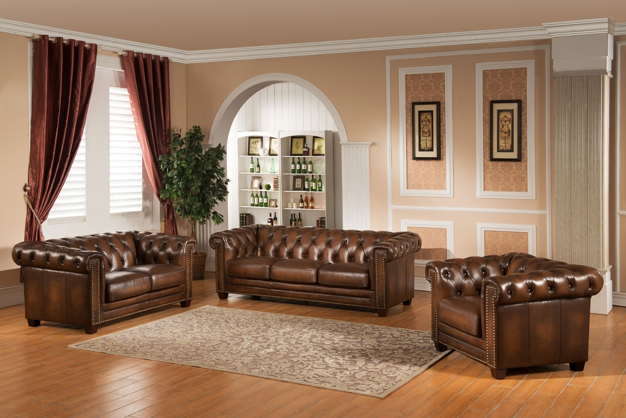 Canterbury Leather Sofas Inside Current Sofas – Amax Leather (View 5 of 15)