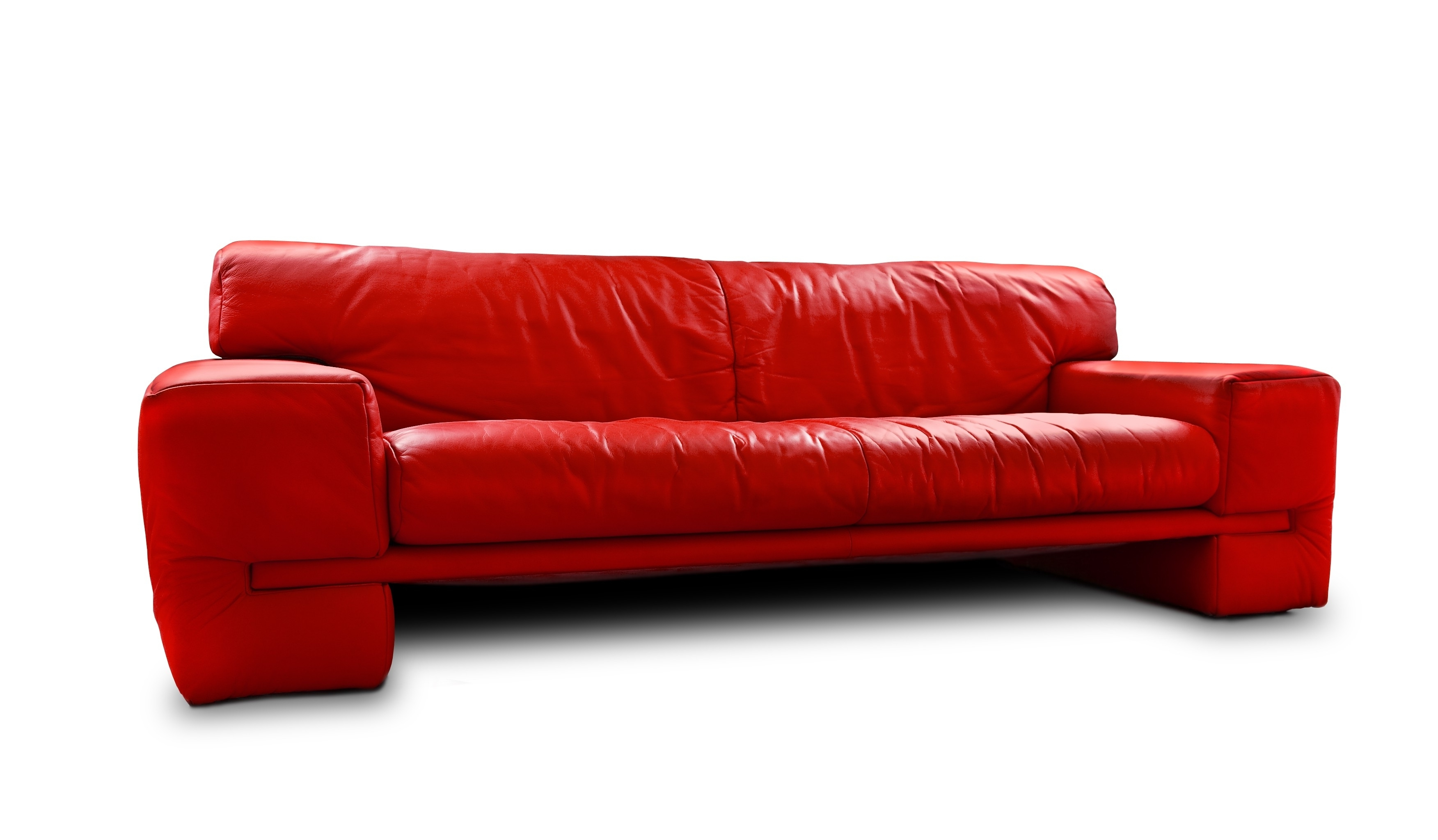 Captivating Red Leather Sleeper Sofa Cool Home Furniture Ideas Pertaining To 2017 Red Sleeper Sofas (View 4 of 15)