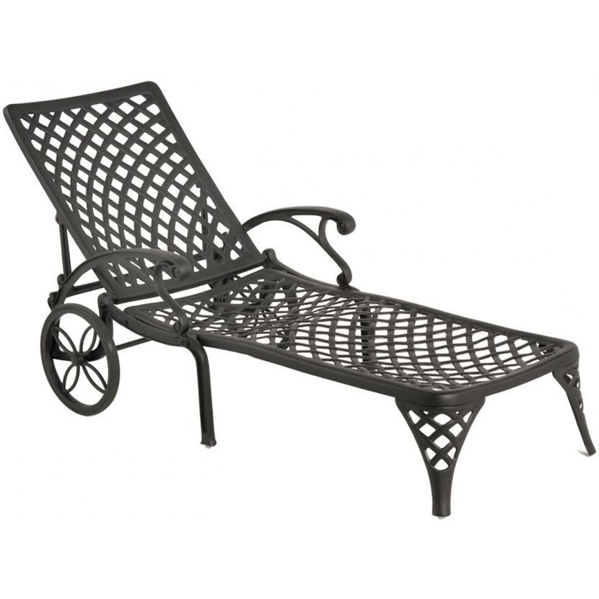 Cast Aluminum Chaise Lounges With Current Hanamint Newport Chaise Lounge (View 4 of 15)