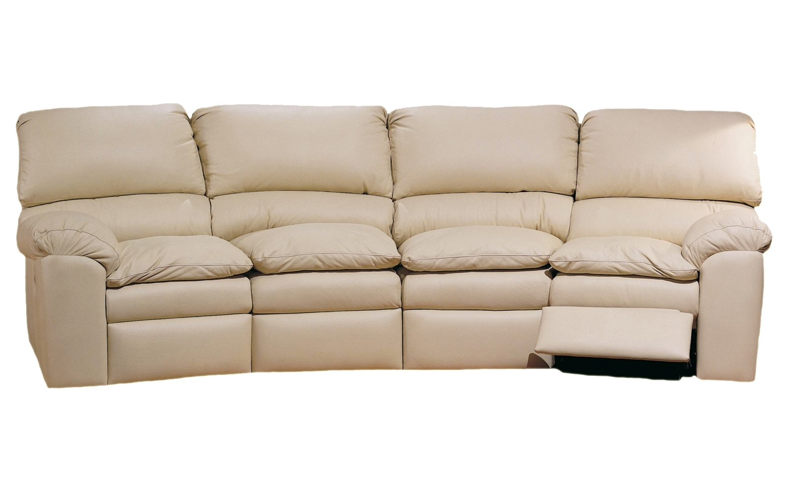 Catera 4 Seat Conversation Sofa – Omnia Leather Regarding Most Recently Released 4 Seat Sofas (View 5 of 15)