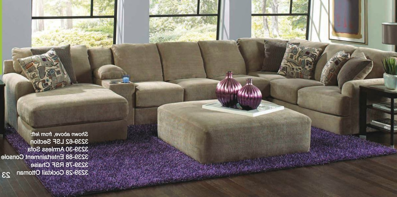 Catnapper 4 Piece Malibu Sectional Set Made In Usa – Usa Furniture Pertaining To 2017 Made In Usa Sectional Sofas (View 4 of 15)