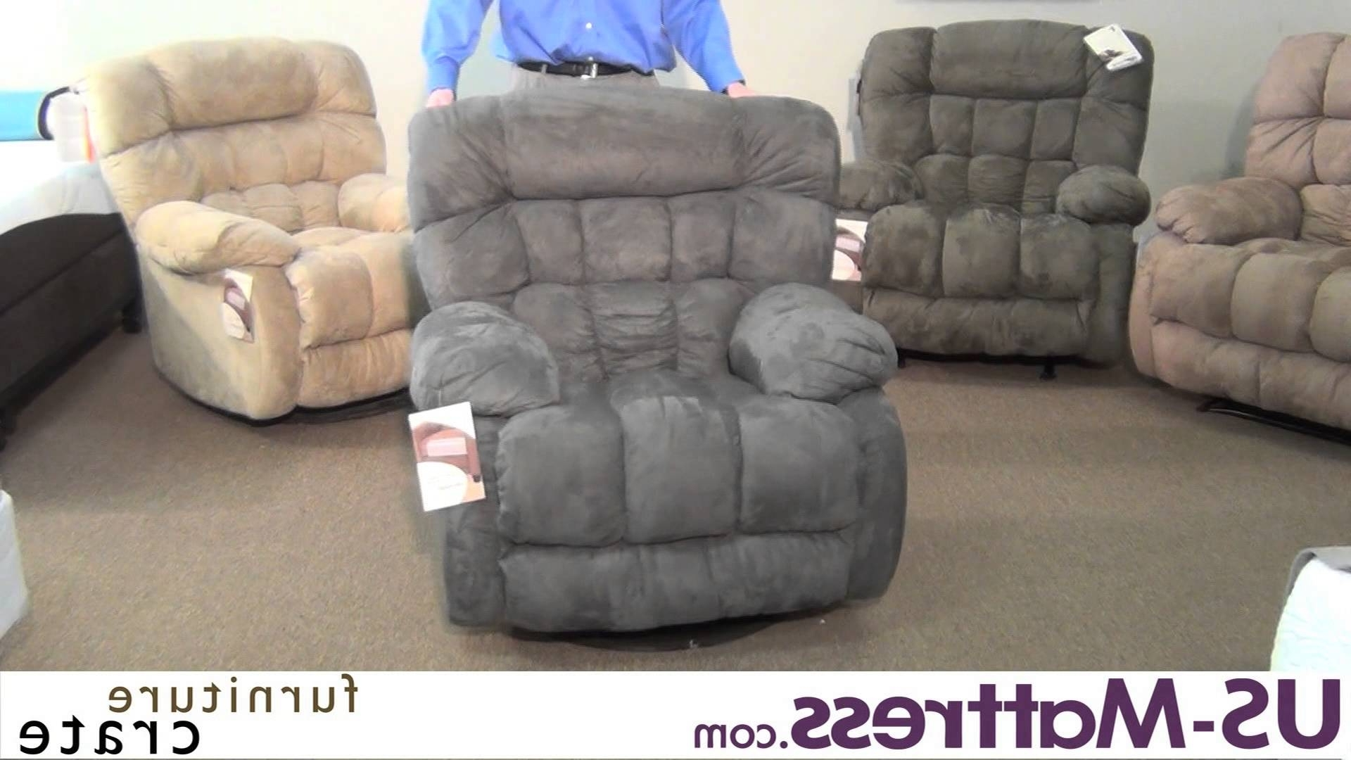 Catnapper Teddy Bear Chaise Swivel Glider Recliner – Youtube Intended For Favorite Chaise Recliners (View 1 of 15)