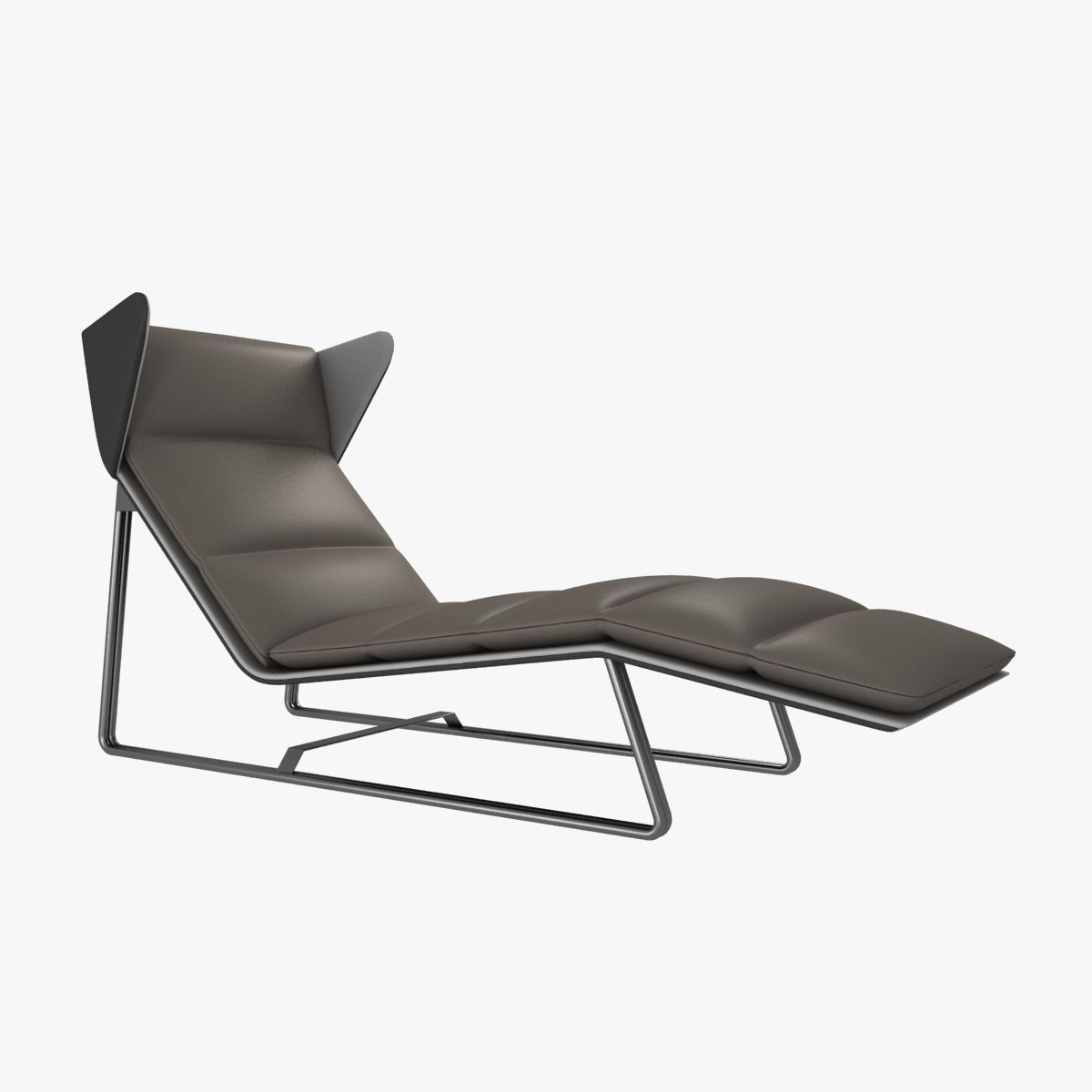 Cgtrader Within Trendy Modern Chaise Lounges (View 5 of 15)