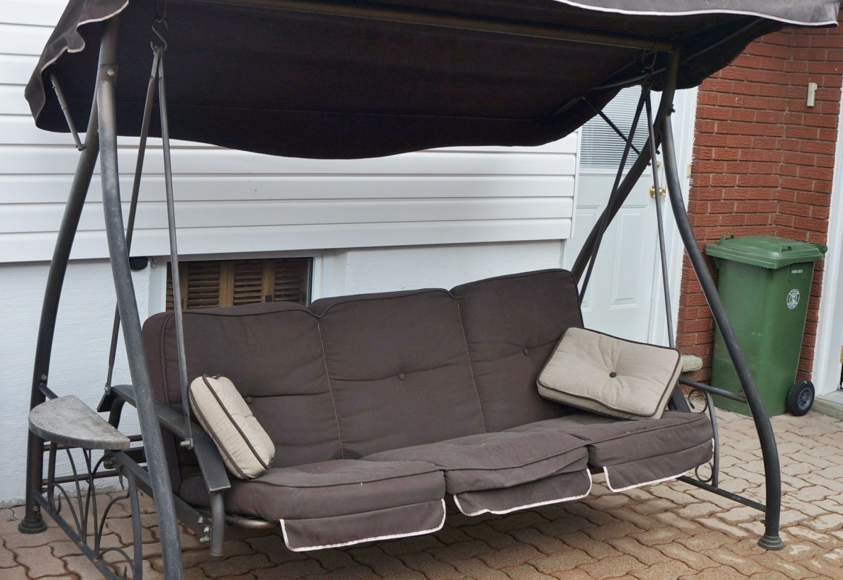 Chairs : Backyards Excellent 2 Person Metal Outdoor Swing 1 Chair Pertaining To Trendy Kettler Chaise Lounge Chairs (View 15 of 15)